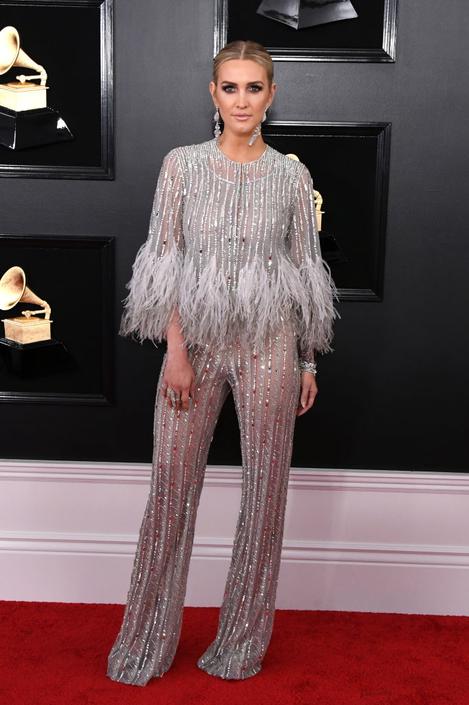 LOS ANGELES, CALIFORNIA - FEBRUARY 10: Ashlee Simpson attends the 61st Annual GRAMMY Awards at Staples Center on February 10, 2019 in Los Angeles, California. (Photo by Jon Kopaloff/Getty Images)