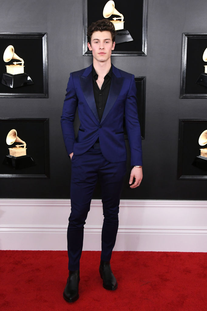LOS ANGELES, CALIFORNIA - FEBRUARY 10: Shawn Mendes attends the 61st Annual GRAMMY Awards at Staples Center on February 10, 2019 in Los Angeles, California. (Photo by Jon Kopaloff/Getty Images)