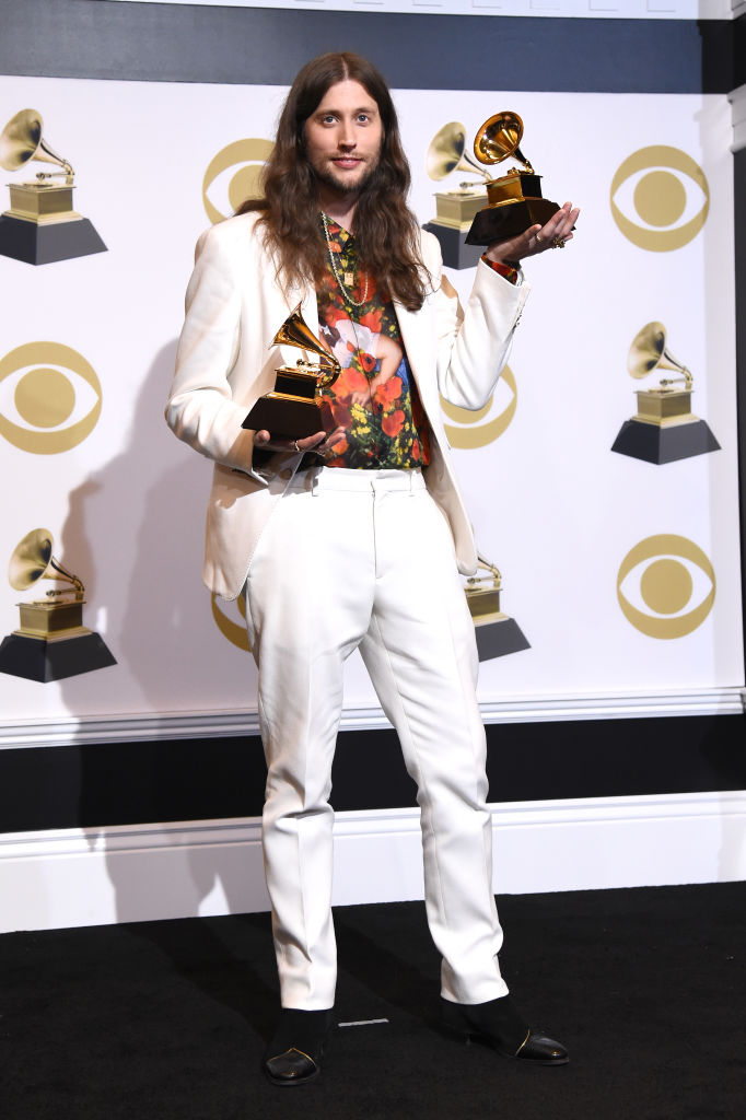 LOS ANGELES, CALIFORNIA - FEBRUARY 10: Ludwig Göransson, winner of Record of the Year and Song of the Year for 'This is America,' poses in the press room during the 61st Annual GRAMMY Awards at Staples Center on February 10, 2019 in Los Angeles, California. (Photo by Amanda Edwards/Getty Images)