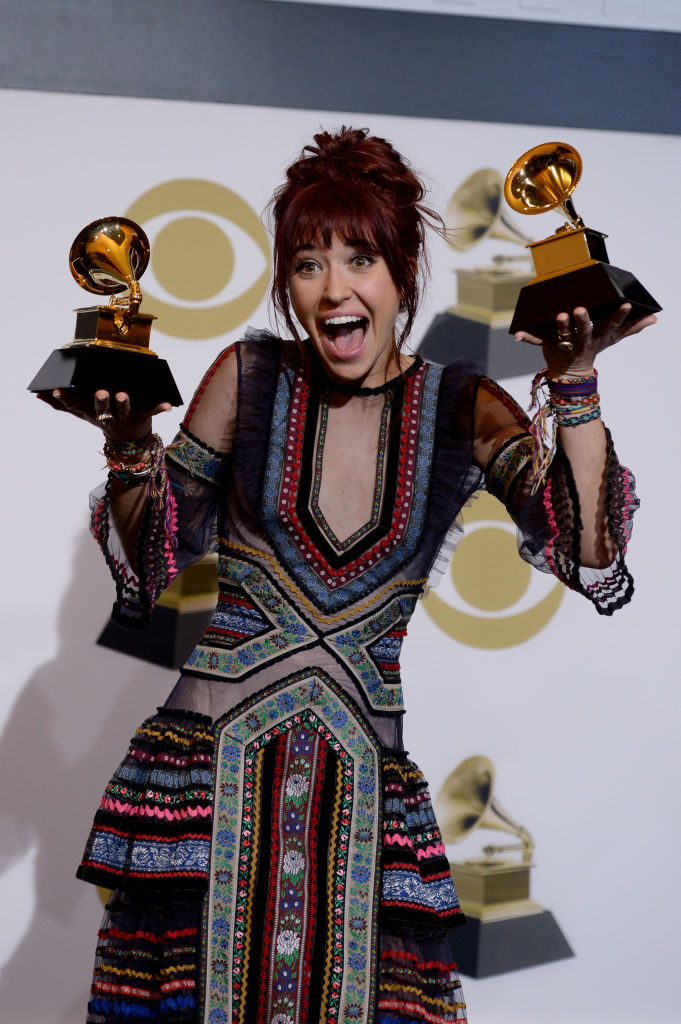 LOS ANGELES, CALIFORNIA - FEBRUARY 10: Lauren Daigle, winner of Best Contemporary Christian Music Performance/Song for 'You Say' and Best Contemporary Christian Music Album for 'Look Up Child', poses in the press room during the 61st Annual GRAMMY Awards at Staples Center on February 10, 2019 in Los Angeles, California. (Photo by Amanda Edwards/Getty Images)