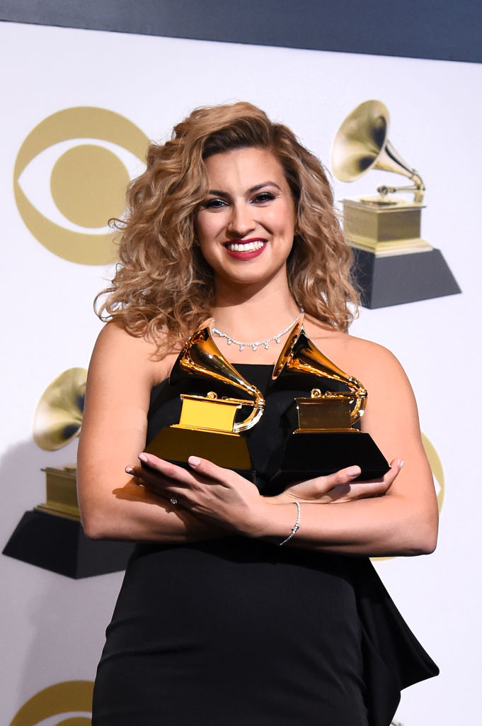 LOS ANGELES, CALIFORNIA - FEBRUARY 10: Tori Kelly, winner of Best Gospel Album and Best Gospel Performance/Song, poses in the press room during the 61st Annual GRAMMY Awards at Staples Center on February 10, 2019 in Los Angeles, California. (Photo by Amanda Edwards/Getty Images)