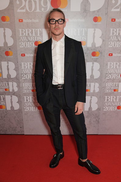 Diplo on the red carpet of The BRIT Awards 2019 held at The O2 Arena on February 20, 2019 in London. (Photo by: Getty Images)