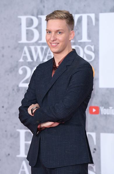 George Ezra attends The BRIT Awards 2019 held at The O2 Arena on February 20, 2019 in London. (Photo by: WireImage)