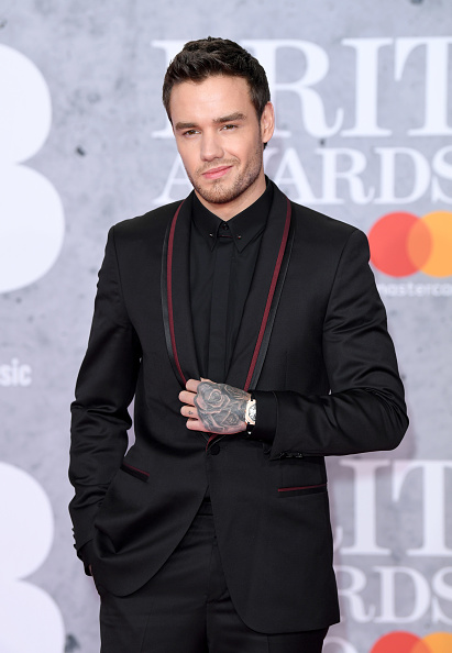 Liam Payne on the red carpet of The BRIT Awards 2019 held at The O2 Arena on February 20, 2019 in London. (Photo by: WireImage)