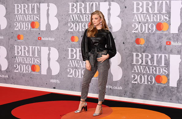 Natalie Dormer on the red carpet of The BRIT Awards 2019 held at The O2 Arena on February 20, 2019 in London. (Photo by: Getty Images)
