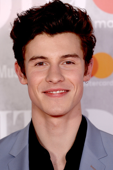 Shawn Mendes on the red carpet of The BRIT Awards 2019 held at The O2 Arena on February 20, 2019 in London. (Photo by: Getty Images)