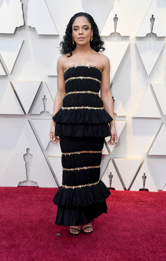 Tessa Thompson attends the 91st Annual Academy Awards on February 24, 2019 in Hollywood, California. (Photo by Frazer Harrison/Getty Images)