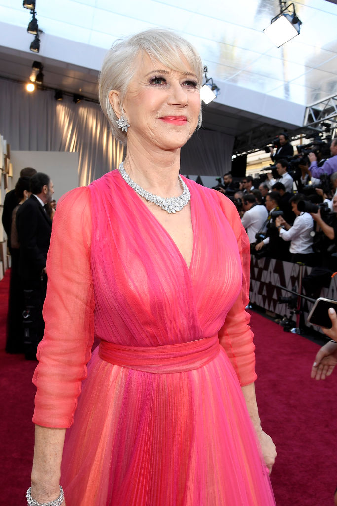 Dame Helen Mirren attends the 91st Annual Academy Awards on February 24, 2019 in Hollywood, California. (Photo by Kevork Djansezian/Getty Images)
