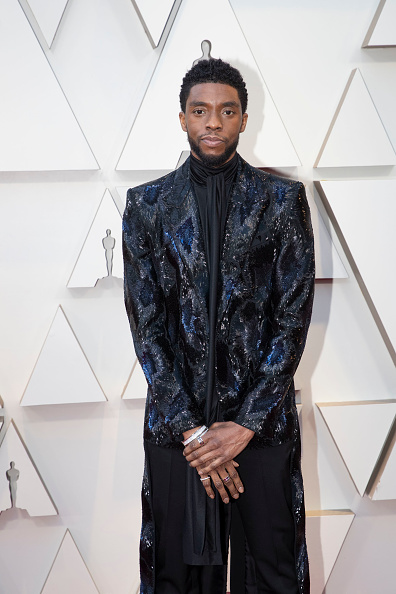 Chadwick Boseman at the 91st Academy Awards on February 24, 2019. (Photo by Rick Rowell via Getty Images)