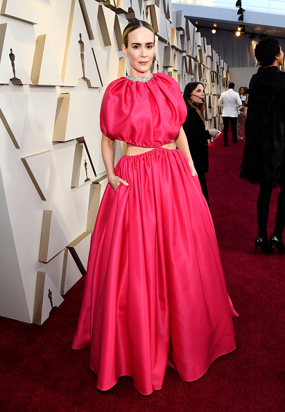 Sarah Paulson attends the 91st Annual Academy Awards on February 24, 2019 in Hollywood, California. (Photo by Kevork Djansezian/Getty Images)