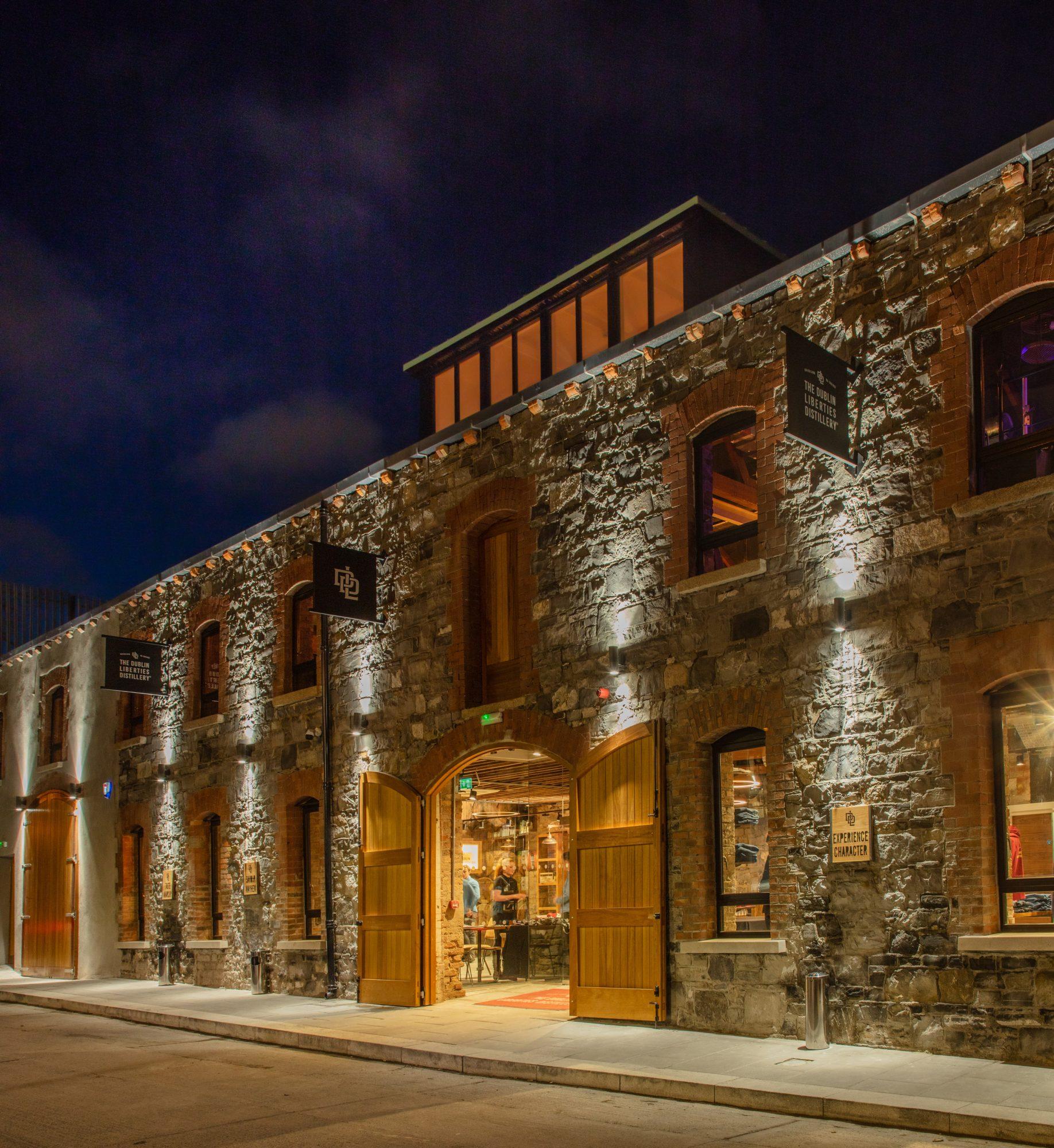 The Dublin Liberties Distillery Building exterior