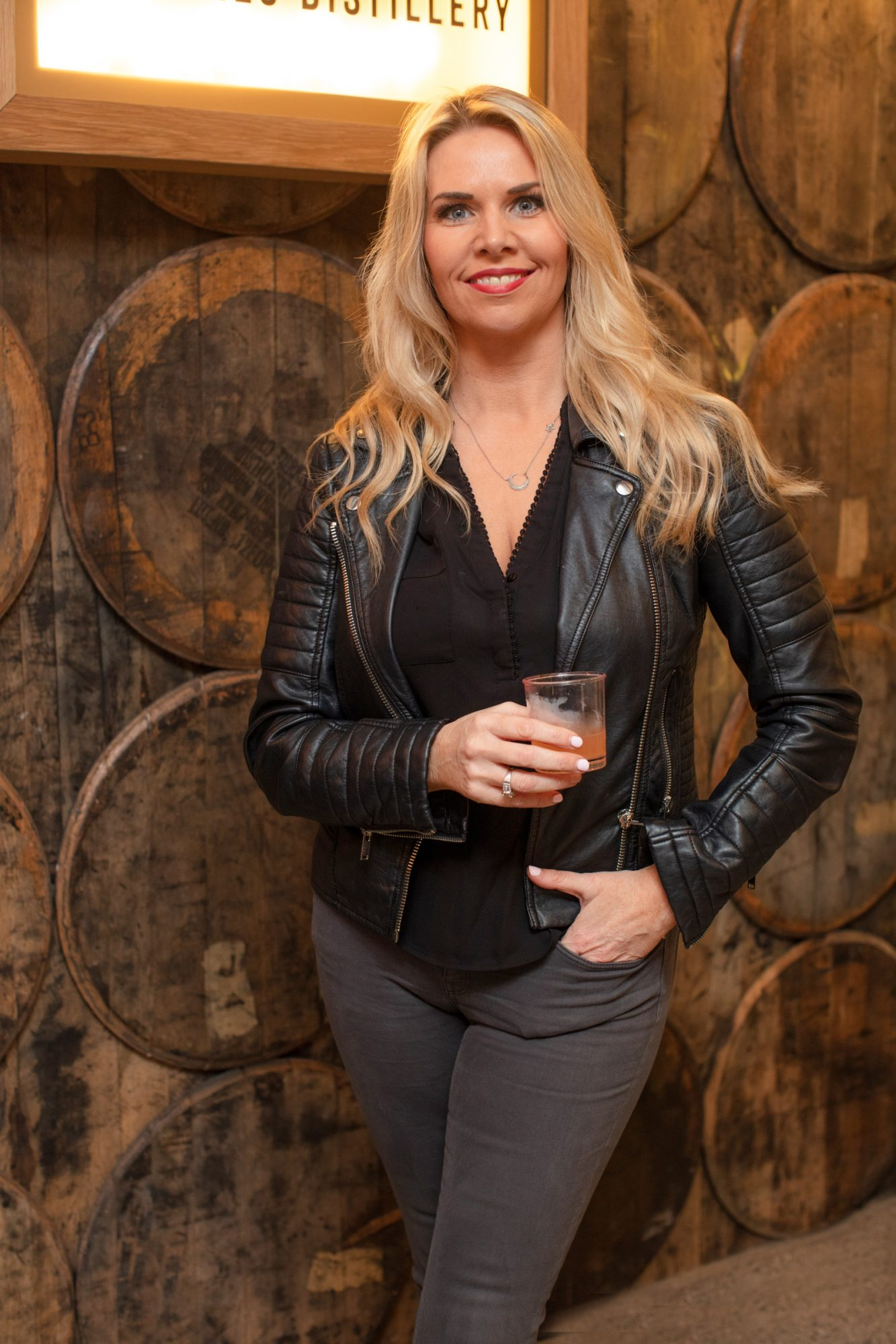 Jules Mahon pictured at the preview of The Dublin Liberties Distillery, the much anticipated new craft distillery in the heart of the Liberties. Photo: Anthony Woods.