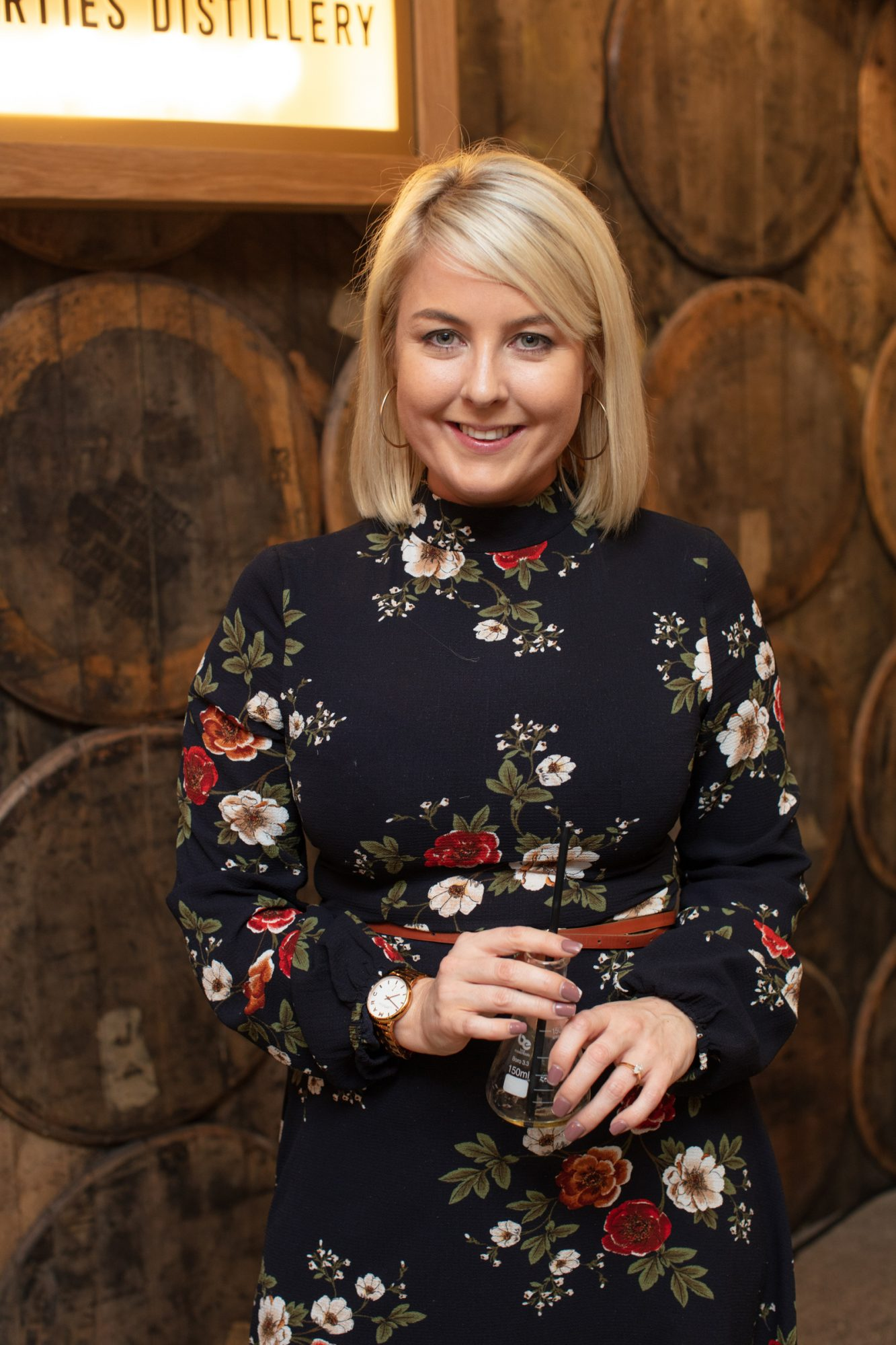 Rebecca Brady pictured at the preview of The Dublin Liberties Distillery, the much anticipated new craft distillery in the heart of the Liberties. Photo: Anthony Woods.