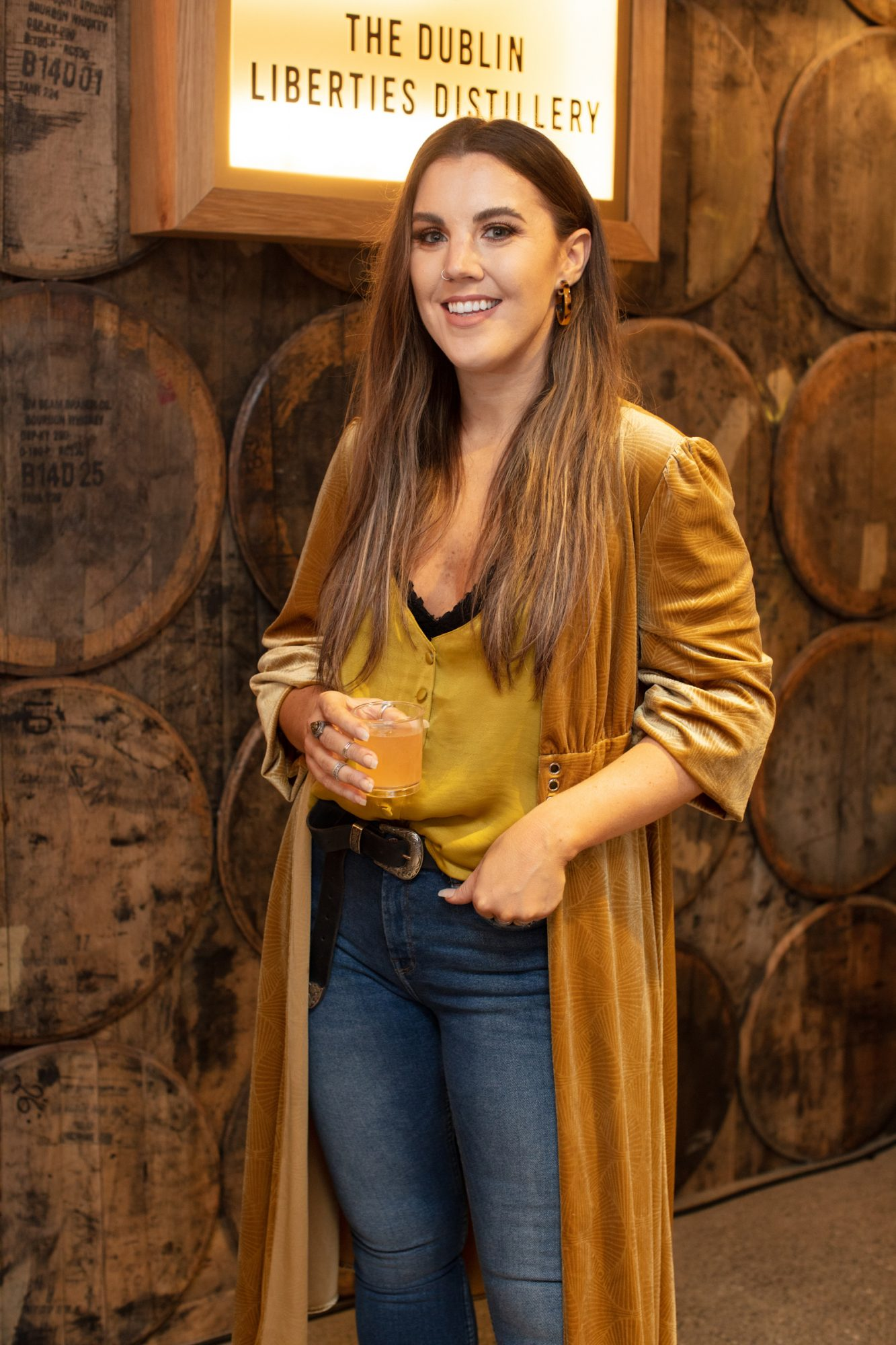 Sarah Hanrahan pictured at the preview of The Dublin Liberties Distillery, the much anticipated new craft distillery in the heart of the Liberties. Photo: Anthony Woods.