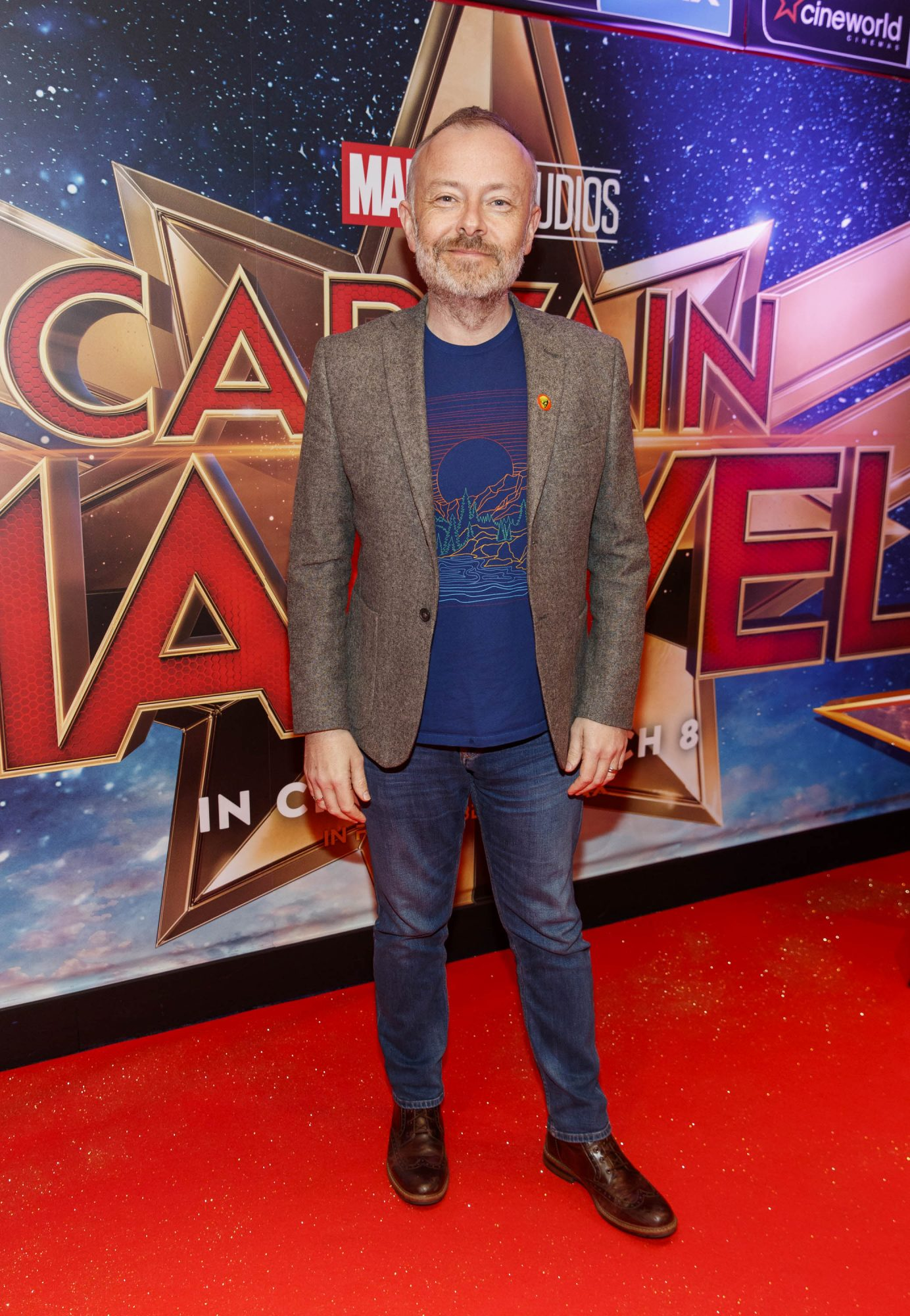 Rick O'Shea pictured at a special preview screening of CAPTAIN MARVEL in Cineworld Dublin. Picture by: Andres Poveda