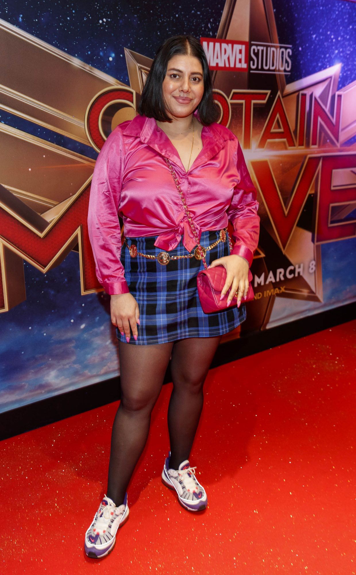 Tara Stewart pictured at a special preview screening of CAPTAIN MARVEL in Cineworld Dublin. Picture by: Andres Poveda