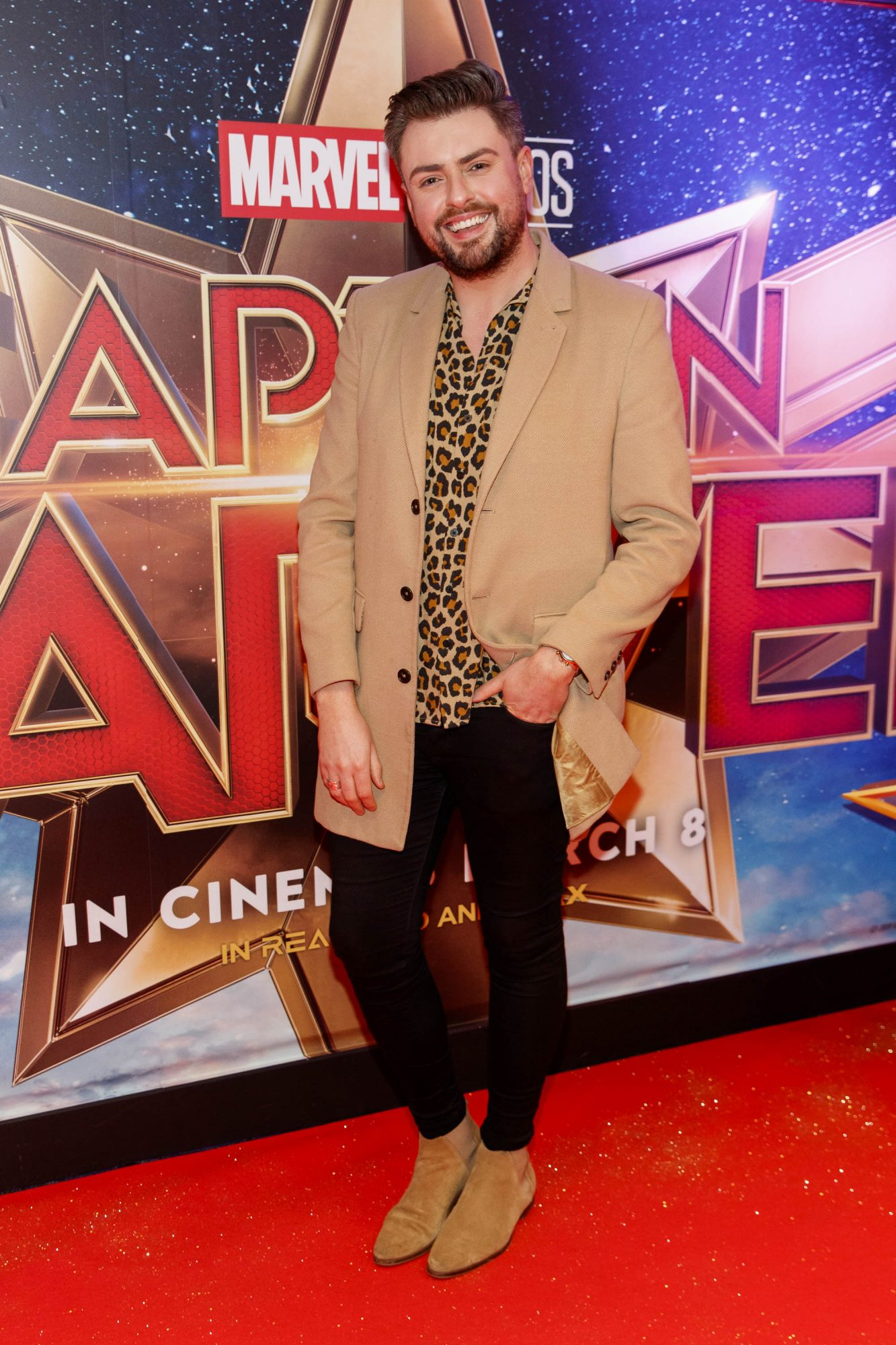 James Patrice pictured at a special preview screening of CAPTAIN MARVEL in Cineworld Dublin. Picture by: Andres Poveda