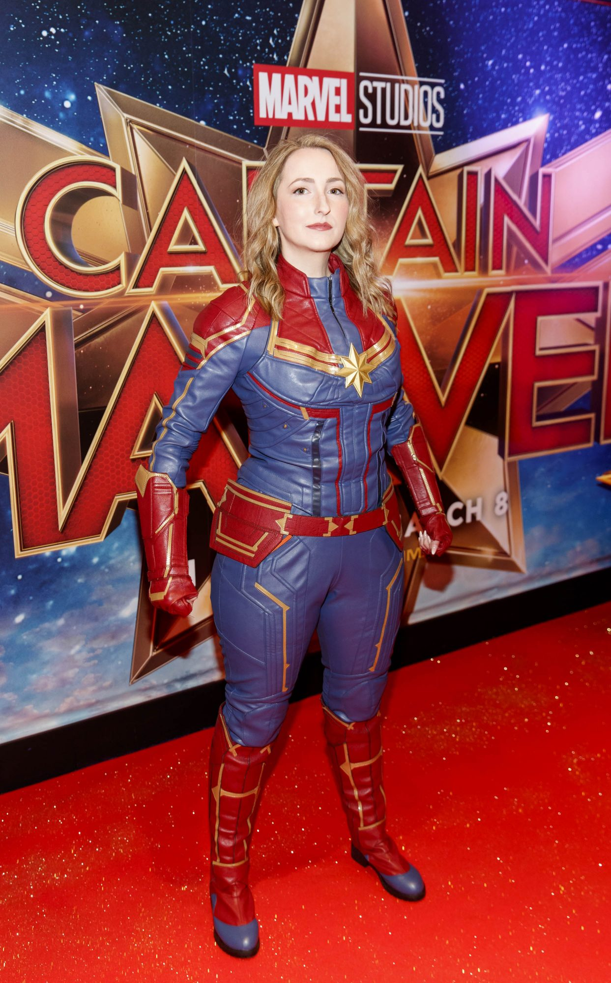 Lauren Murphy pictured at a special preview screening of CAPTAIN MARVEL in Cineworld Dublin. Picture by: Andres Poveda