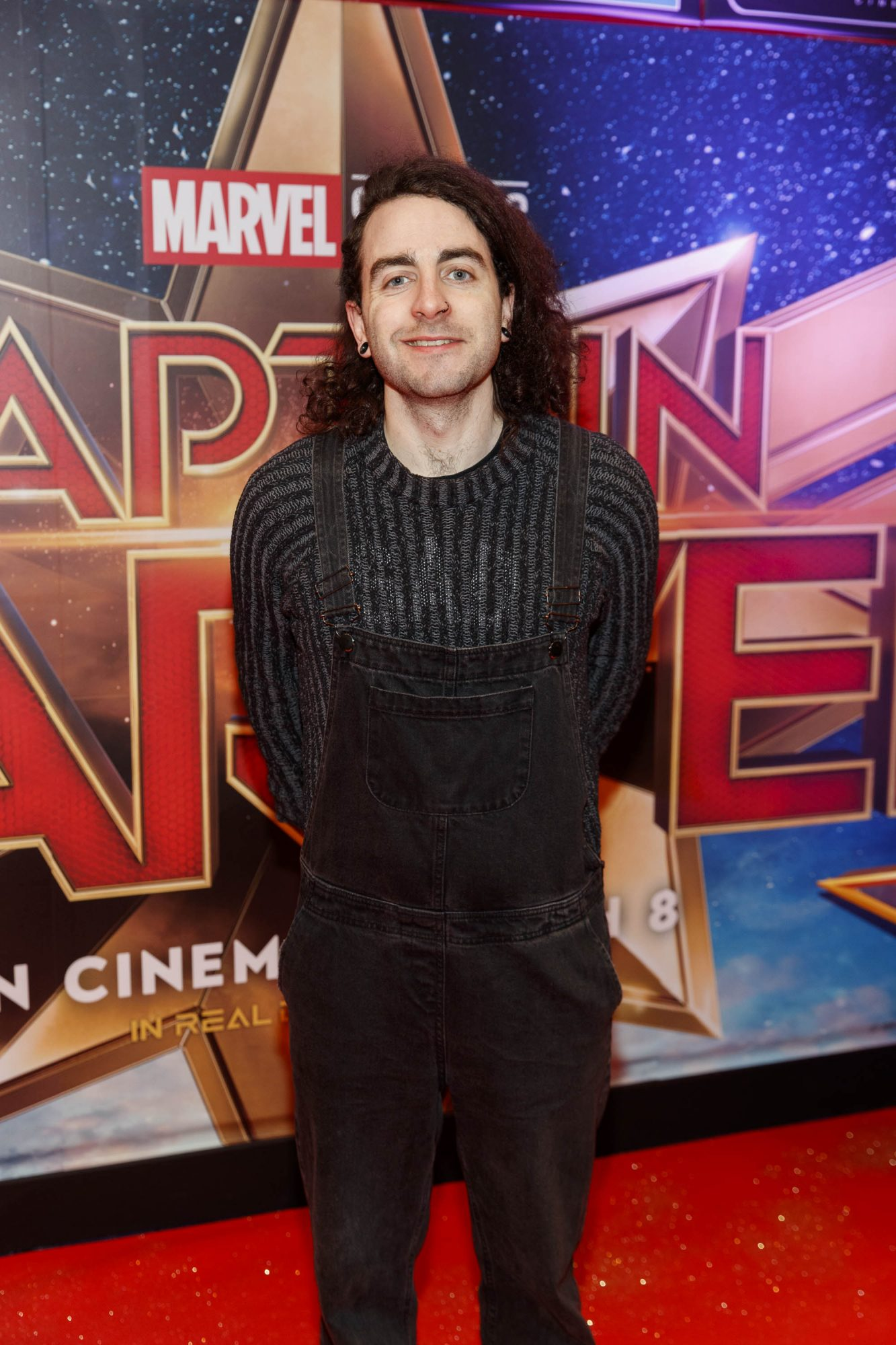 Davy Reilly pictured at a special preview screening of CAPTAIN MARVEL in Cineworld Dublin. Picture by: Andres Poveda