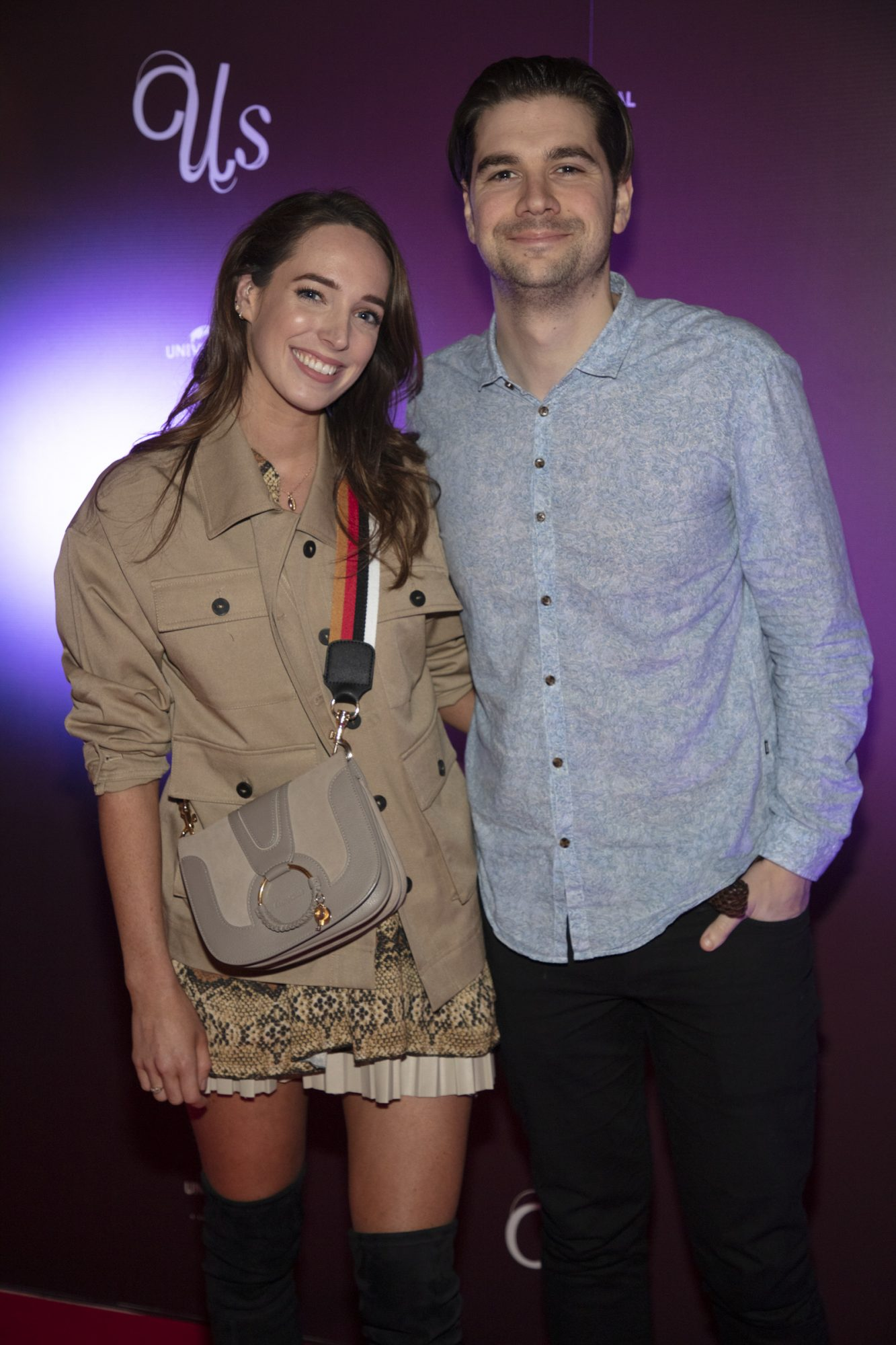Ciara O'Doherty & Yoseph Sheridan pictured at an exclusive first look of Jordan Peele's Us at The Stella Theatre, Ranelagh. Photo: Anthony Woods.
