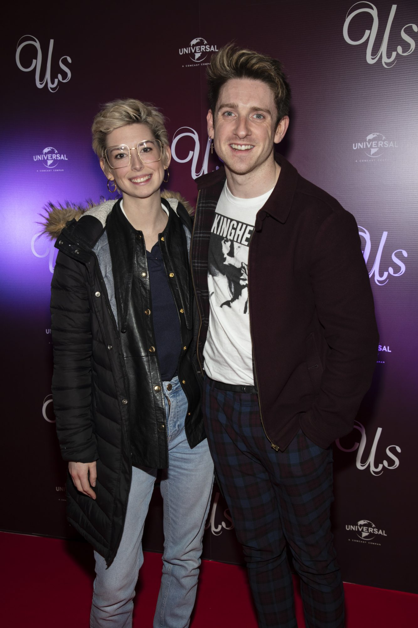 Faye O'Rourke & Stephen Byrne pictured at an exclusive first look of Jordan Peele's Us at The Stella Theatre, Ranelagh. Photo: Anthony Woods.
