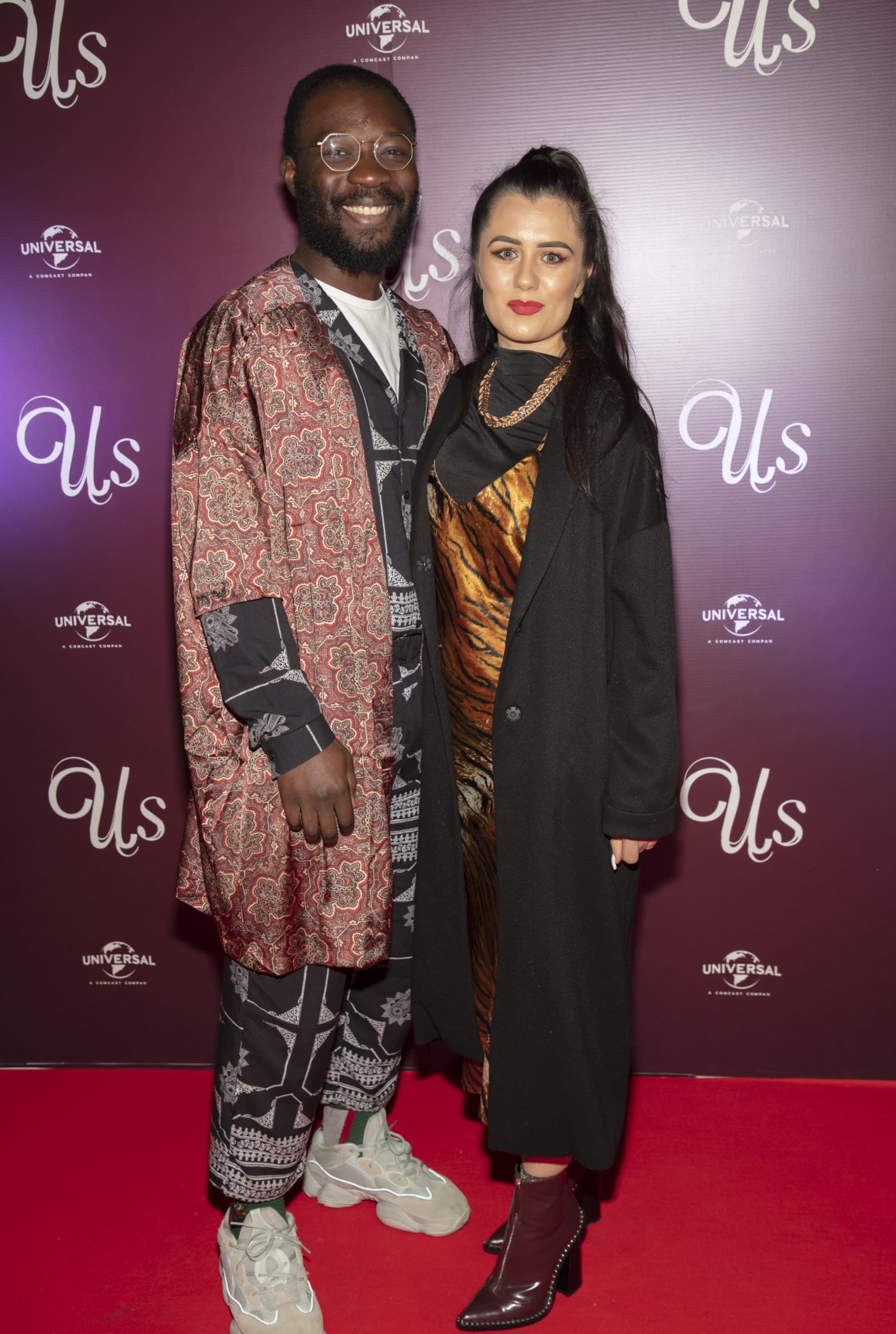 Timi Ogunyemi & Karli Mulvaney pictured at an exclusive first look of Jordan Peele's Us at The Stella Theatre, Ranelagh. Photo: Anthony Woods.