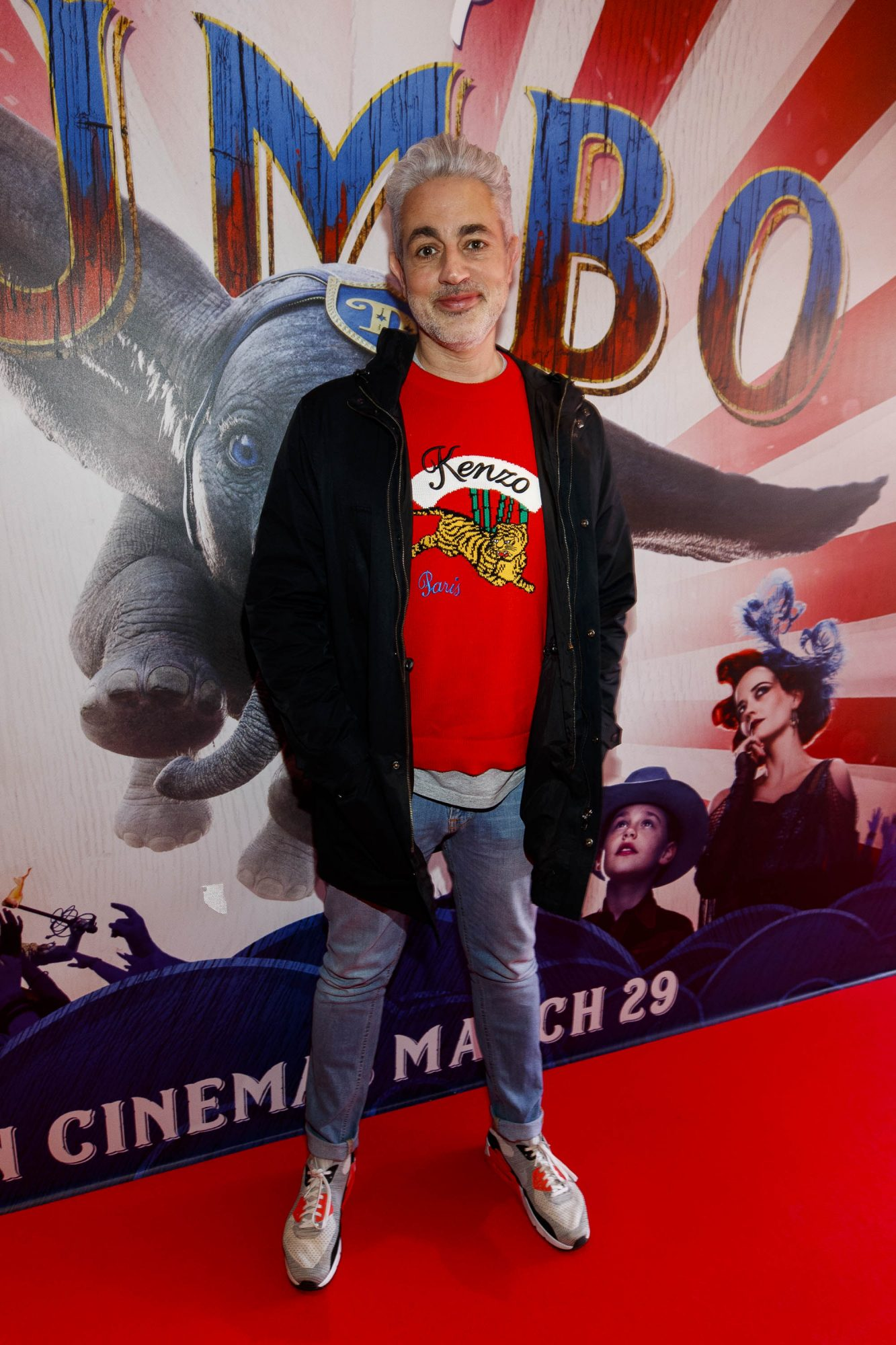 24/03/2019 Baz Ashmawy pictured at the Irish Premiere of Disney's DUMBO in the Light House Cinema Dublin. Picture: Andres Poveda