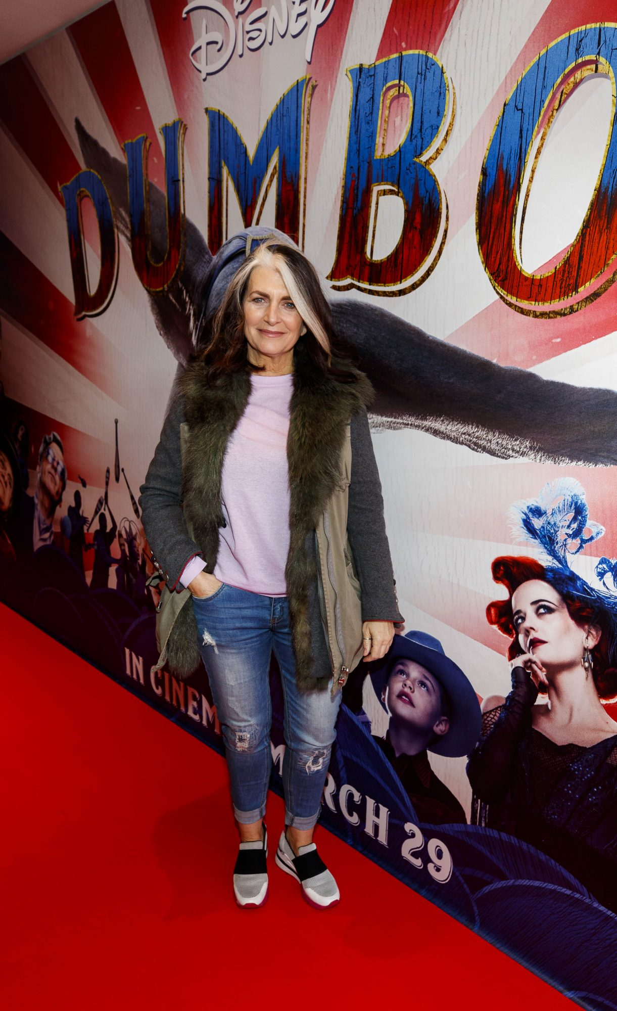 24/03/2019 Cathy O'Connor pictured at the Irish Premiere of Disney's DUMBO in the Light House Cinema Dublin. Picture: Andres Poveda