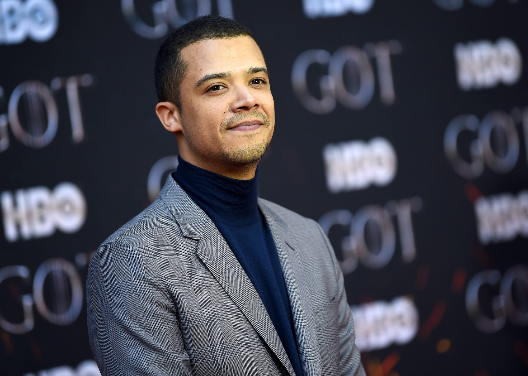 "NEW YORK, NEW YORK - APRIL 03: Jacob Anderson attends the ""Game Of Thrones"" Season 8 Premiere on April 03, 2019 in New York City. (Photo by Dimitrios Kambouris/Getty Images)"