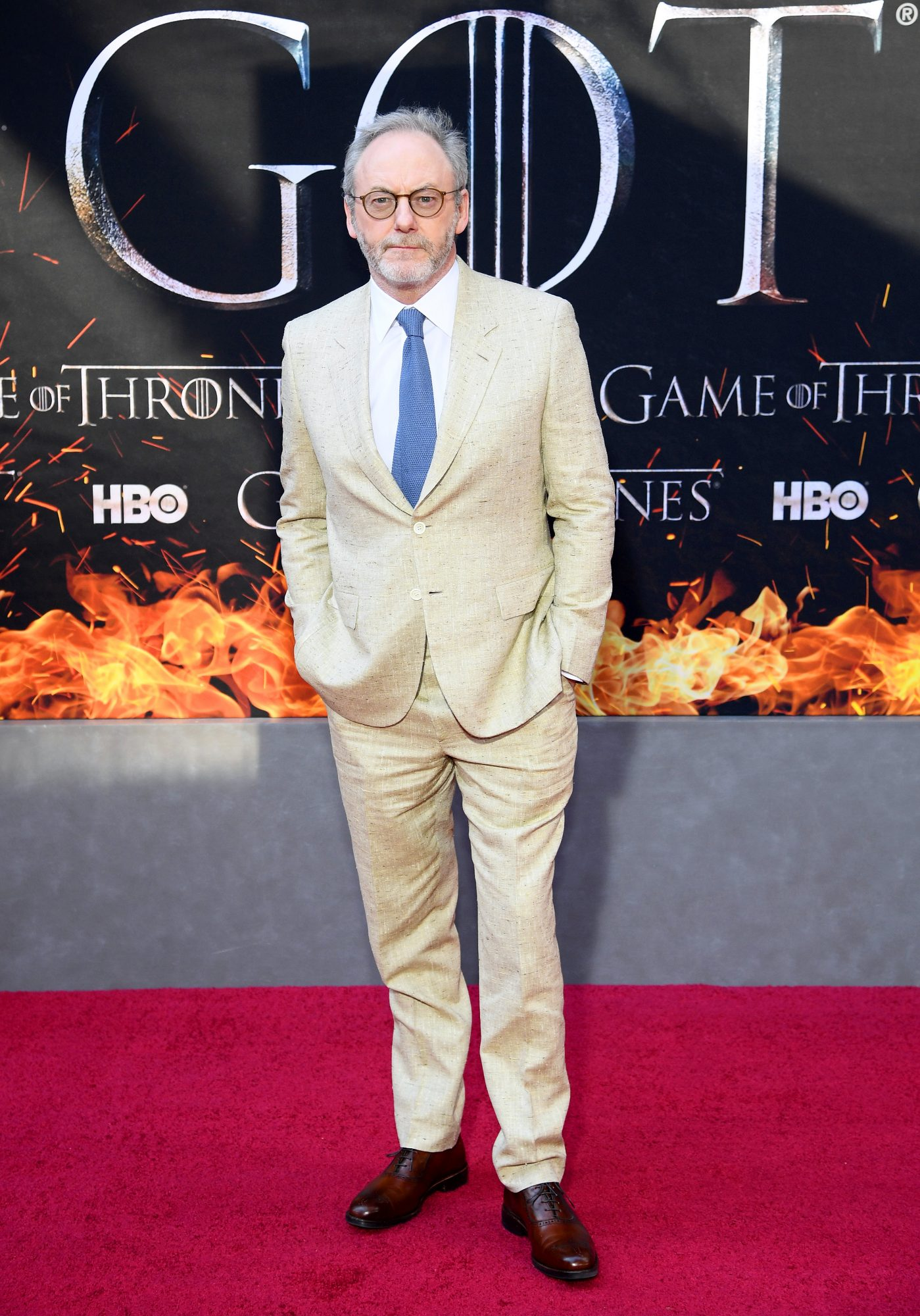 """NEW YORK, NEW YORK - APRIL 03: Liam Cunningham attends the """"Game Of Thrones"""" Season 8 Premiere on April 03, 2019 in New York City. (Photo by Dimitrios Kambouris/Getty Images)"""