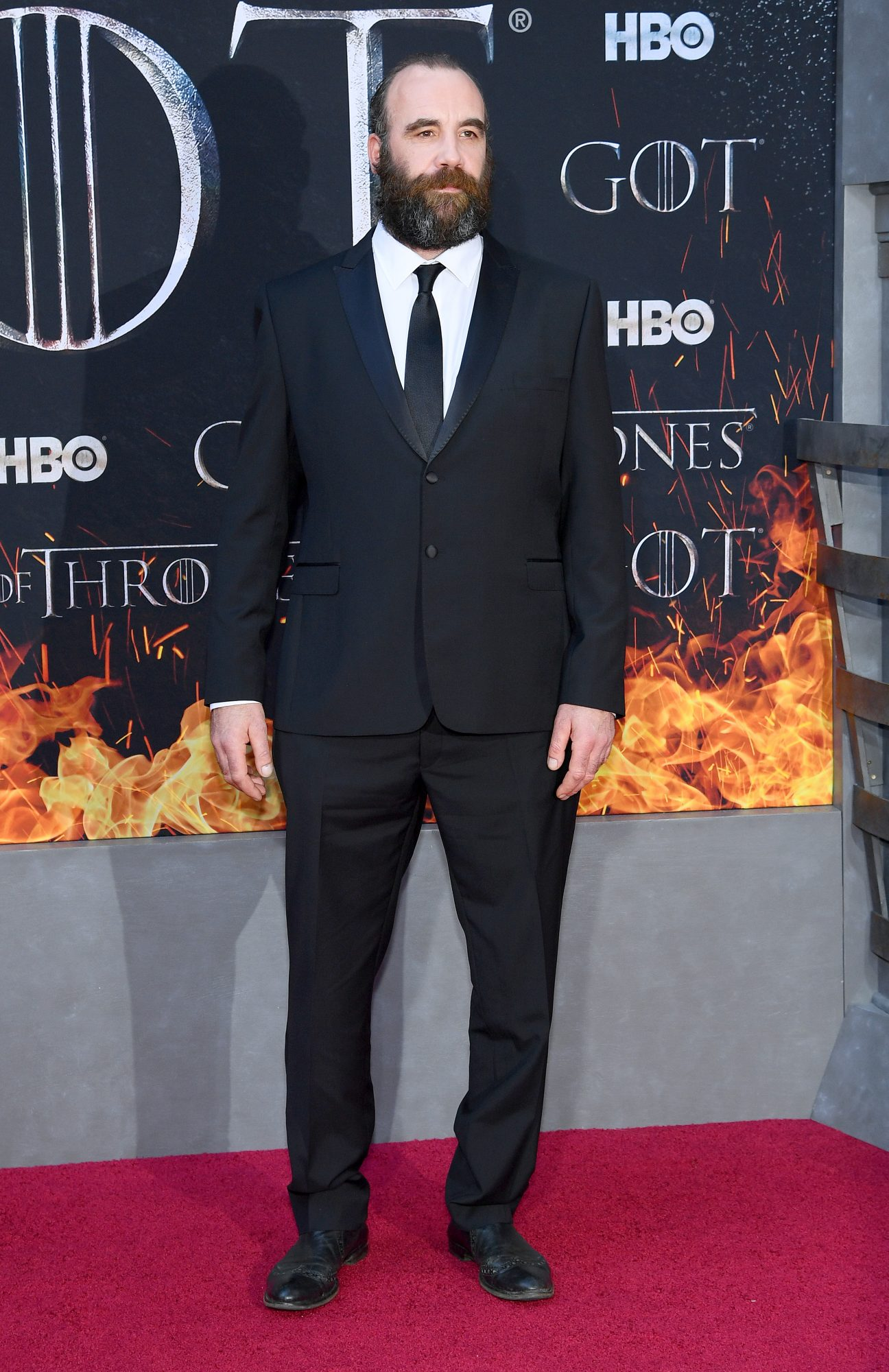 "NEW YORK, NEW YORK - APRIL 03: Rory McCann attends the ""Game Of Thrones"" Season 8 Premiere on April 03, 2019 in New York City. (Photo by Dimitrios Kambouris/Getty Images)"