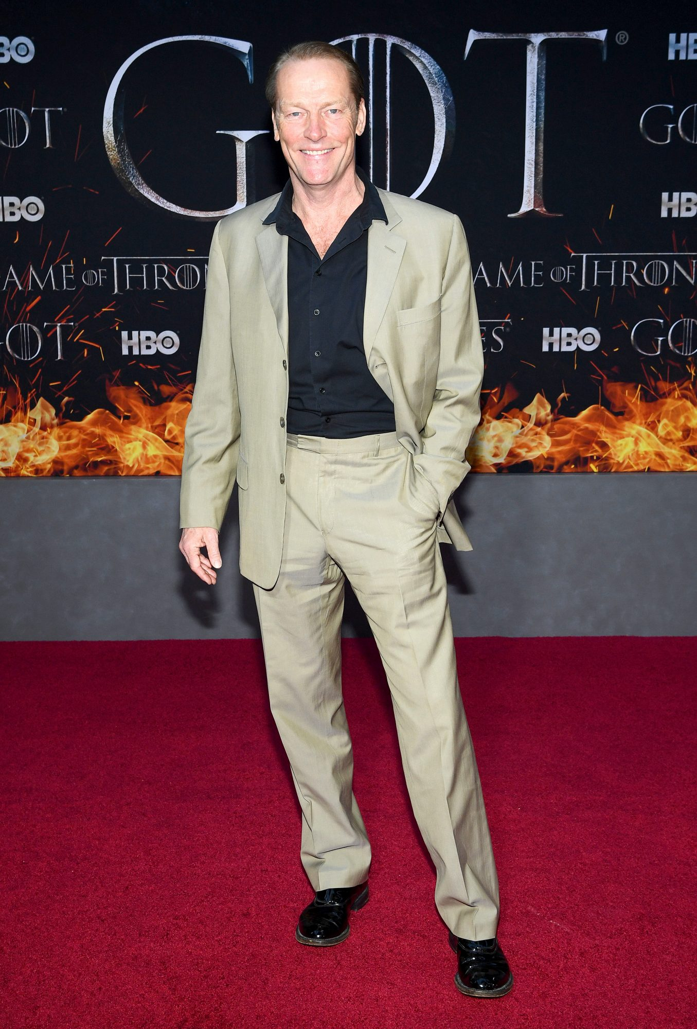 "NEW YORK, NEW YORK - APRIL 03: Iain Glen attends the ""Game Of Thrones"" Season 8 Premiere on April 03, 2019 in New York City. (Photo by Dimitrios Kambouris/Getty Images)"