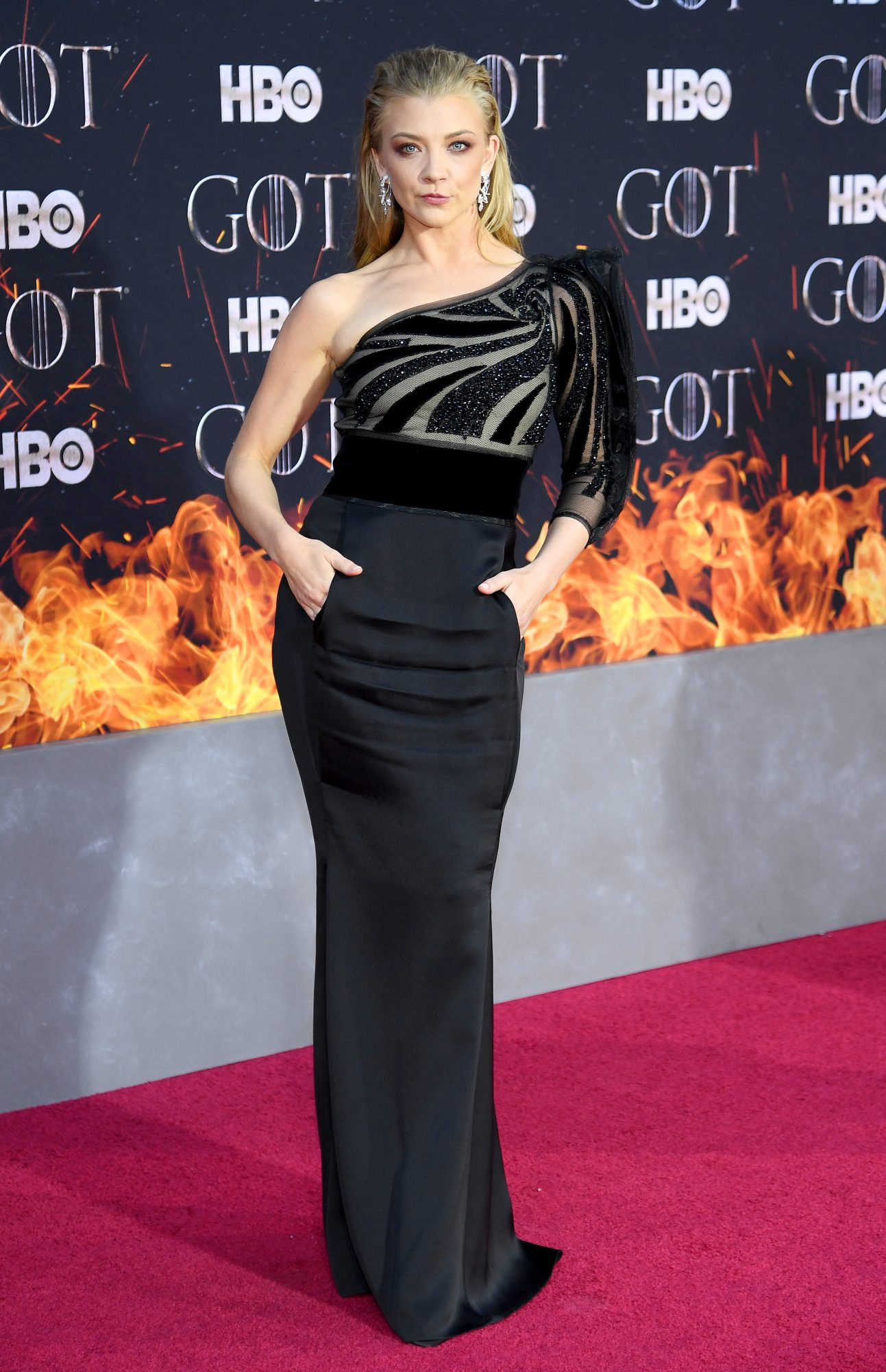 """NEW YORK, NEW YORK - APRIL 03: Natalie Dormer attends the """"Game Of Thrones"""" Season 8 Premiere on April 03, 2019 in New York City. (Photo by Dimitrios Kambouris/Getty Images)"""