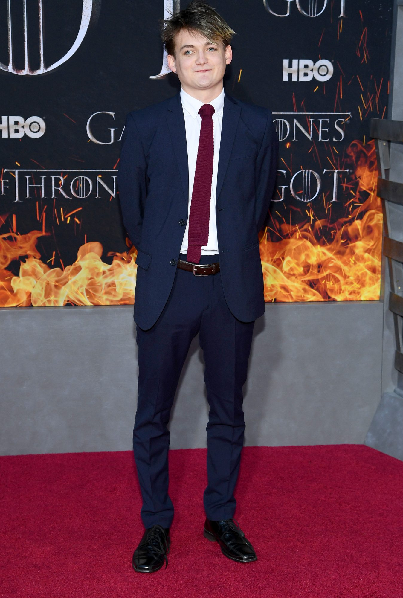 "NEW YORK, NEW YORK - APRIL 03: Jack Gleeson attends the ""Game Of Thrones"" Season 8 Premiere on April 03, 2019 in New York City. (Photo by Dimitrios Kambouris/Getty Images)"