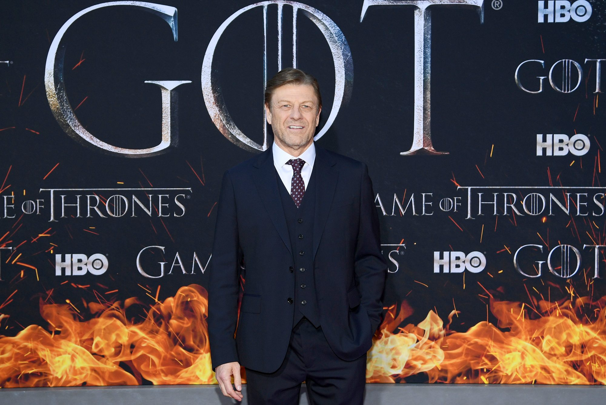 "NEW YORK, NEW YORK - APRIL 03: Sean Bean attends the ""Game Of Thrones"" Season 8 Premiere on April 03, 2019 in New York City. (Photo by Dimitrios Kambouris/Getty Images)"