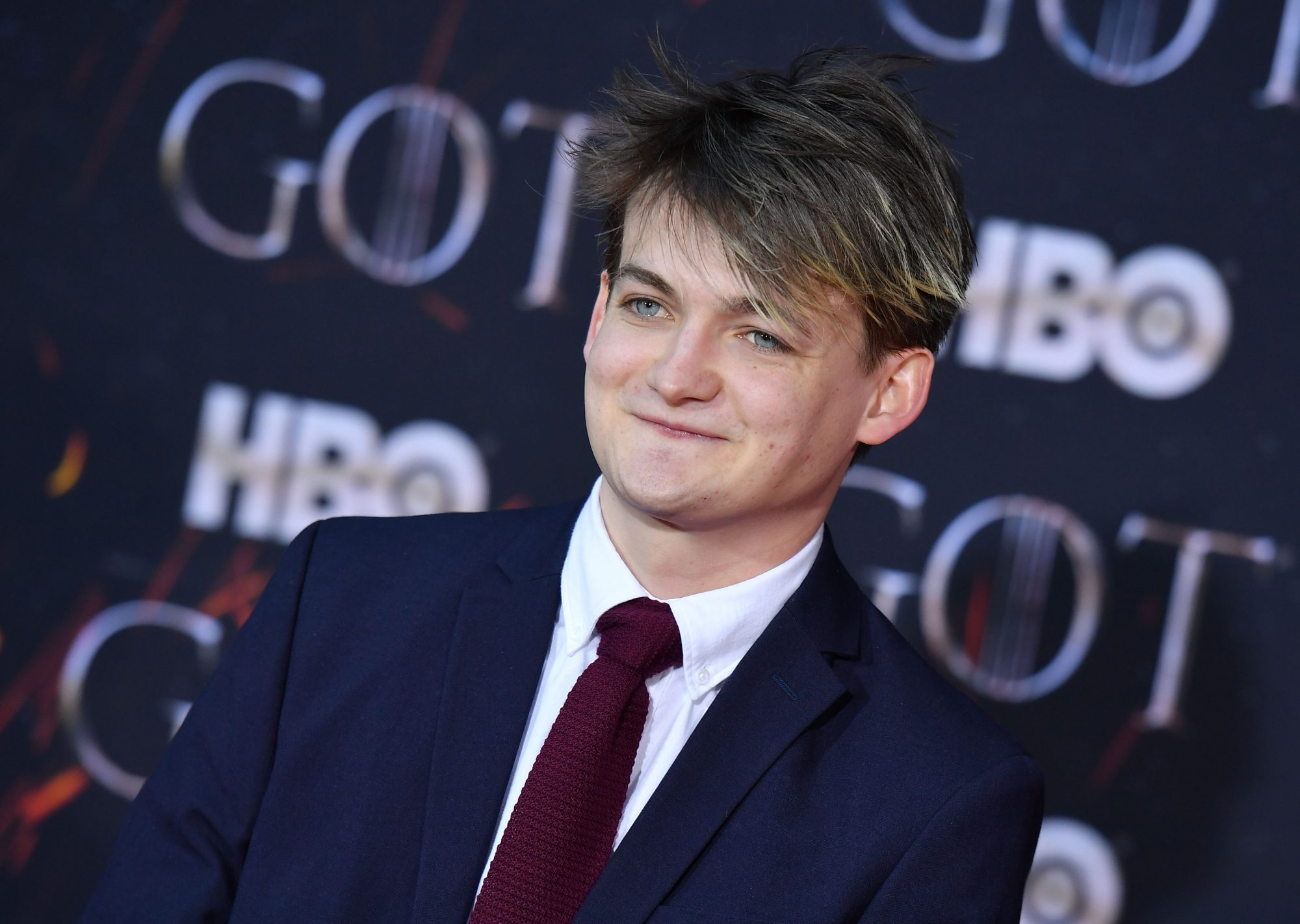 "Irish actor Jack Gleeson arrives for the ""Game of Thrones"" eighth and final season premiere at Radio City Music Hall on April 3, 2019 in New York city. (Photo by Angela Weiss / AFP)        (Photo credit should read ANGELA WEISS/AFP/Getty Images)"