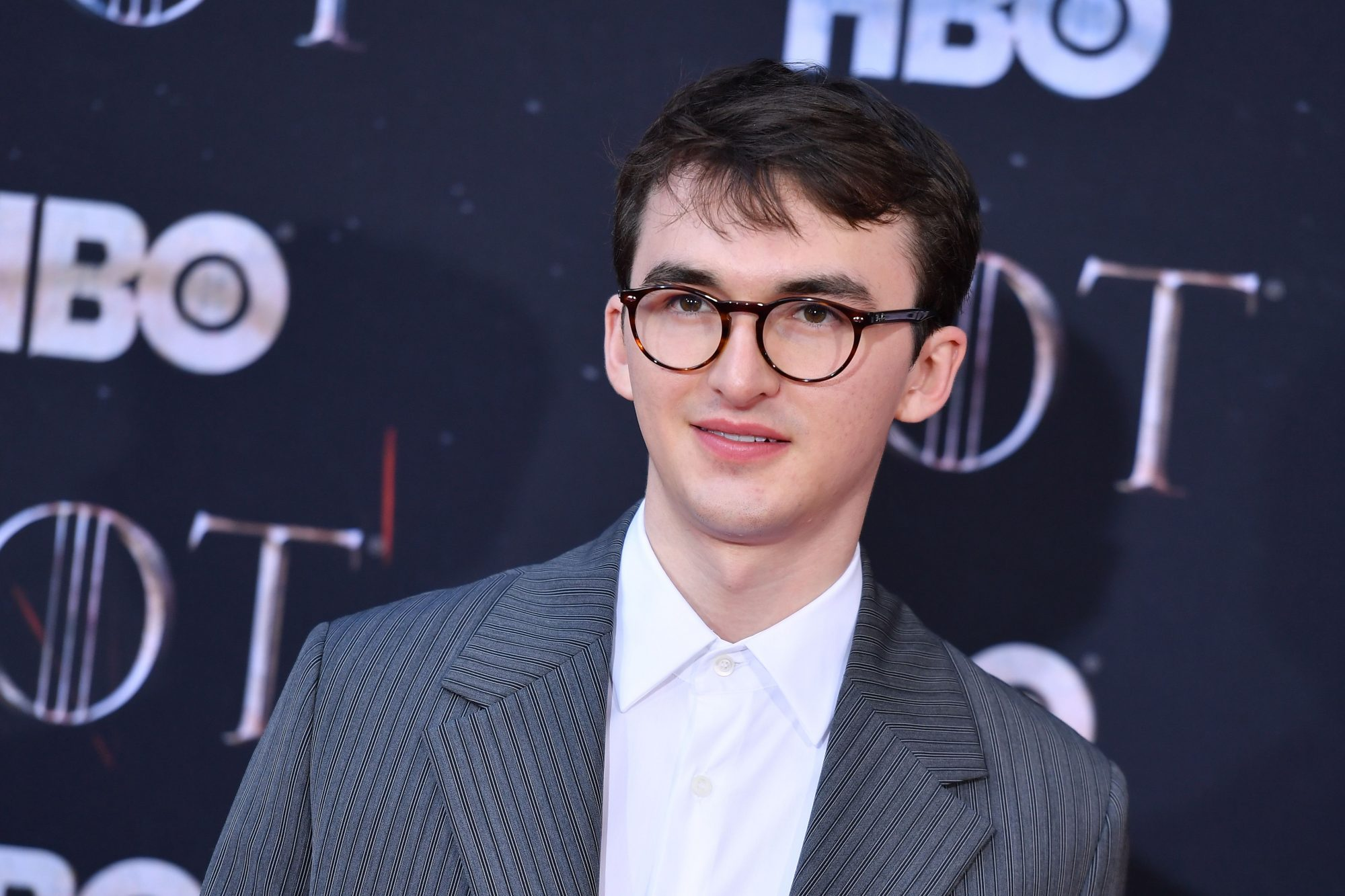 "British actor Isaac Hempstead Wright arrives for the ""Game of Thrones"" eighth and final season premiere at Radio City Music Hall on April 3, 2019 in New York city. (Photo by Angela Weiss / AFP)        (Photo credit should read ANGELA WEISS/AFP/Getty Images)"