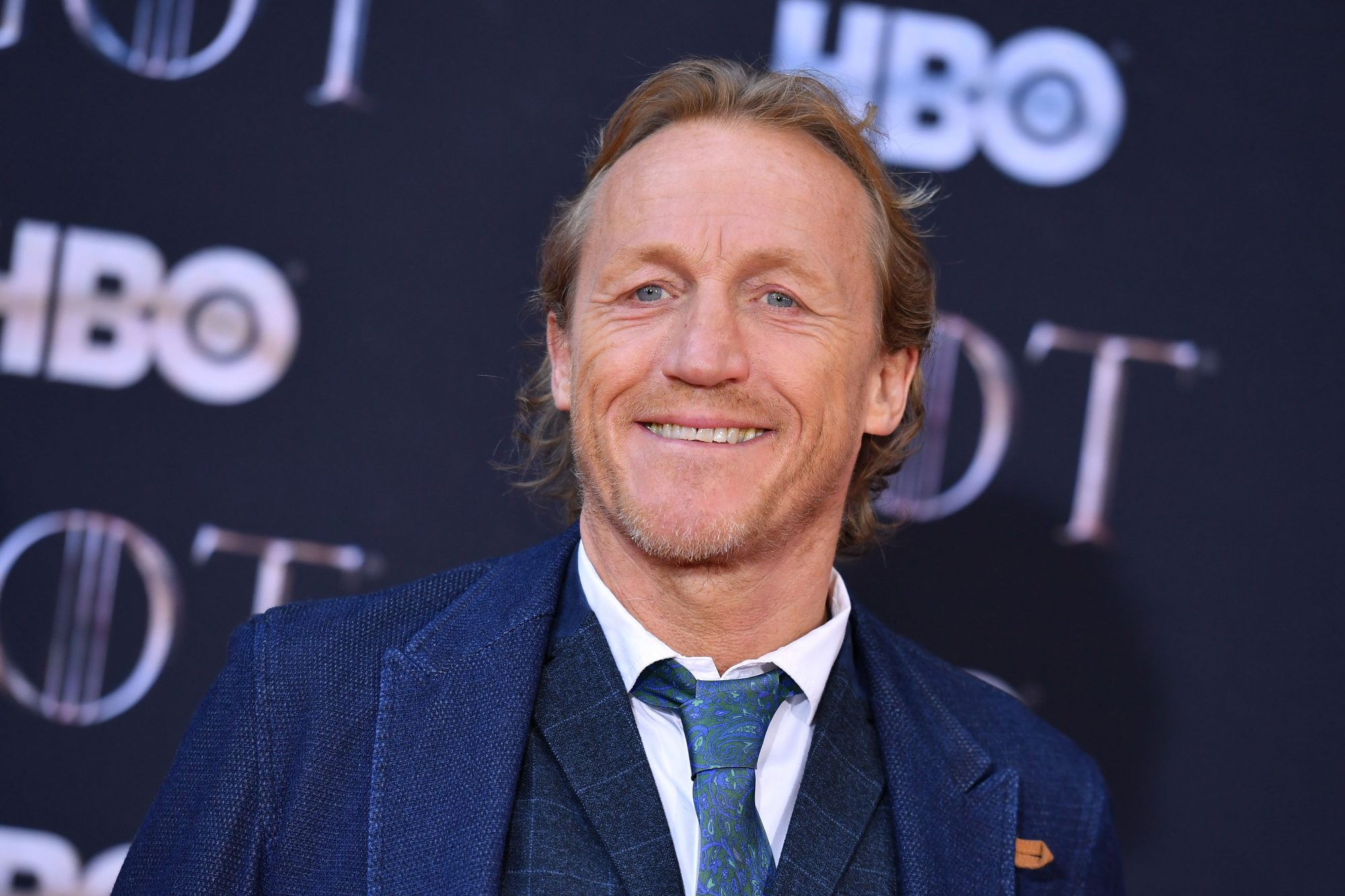 """Scottish actor Iain Glen arrives for the """"Game of Thrones"""" eighth and final season premiere at Radio City Music Hall on April 3, 2019 in New York city. (Photo by Angela Weiss / AFP)        (Photo credit should read ANGELA WEISS/AFP/Getty Images)"""