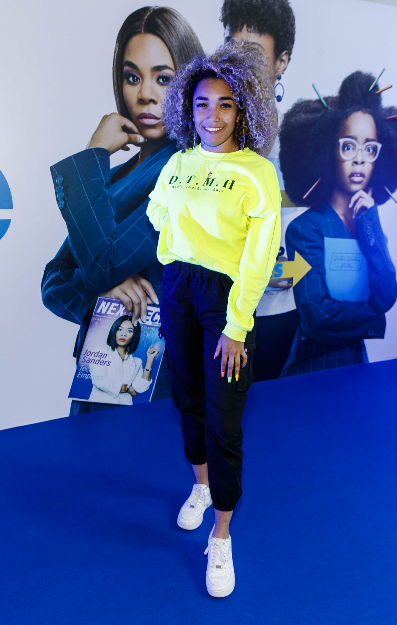 Erica Cody pictured at a special preview screening of Little at Odeon Point Square, Dublin. Little, starring Girls Trip Regina Hall hits cinemas across Ireland this Friday April 12th. Picture Andres Poveda