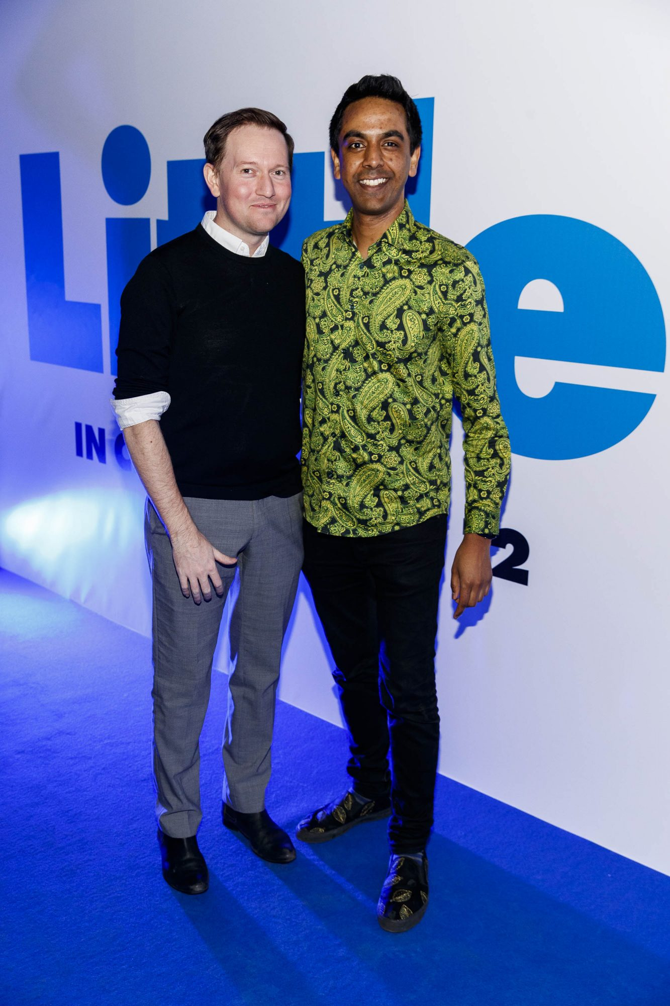 David Mitchell and Clint Drieberg pictured at a special preview screening of Little at Odeon Point Square, Dublin. Little, starring Girls Trip Regina Hall hits cinemas across Ireland this Friday April 12th. Picture Andres Poveda