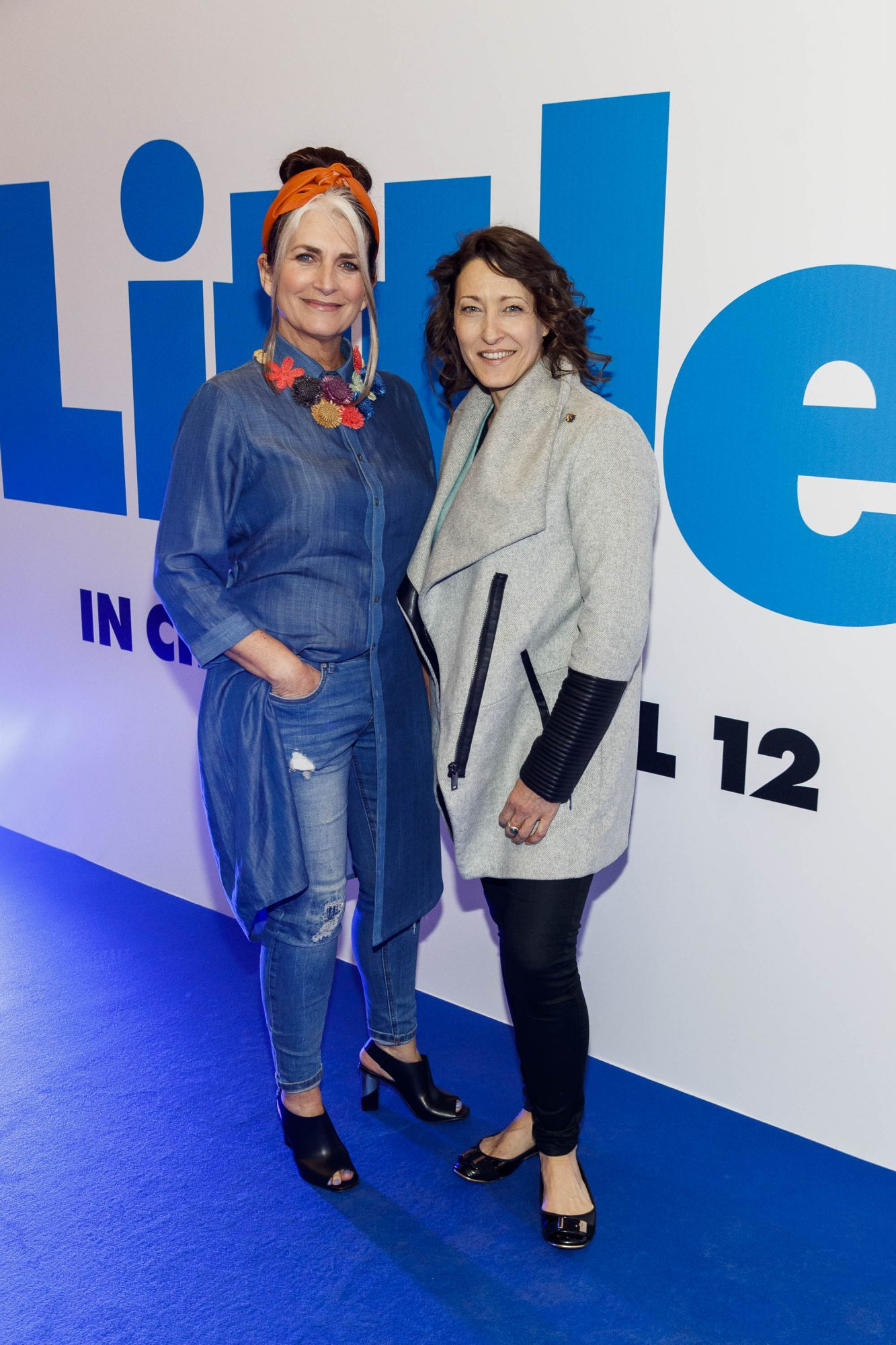 Cathy O'Connor and Jeannie Wenham pictured at a special preview screening of Little at Odeon Point Square, Dublin. Little, starring Girls Trip Regina Hall hits cinemas across Ireland this Friday April 12th. Picture Andres Poveda