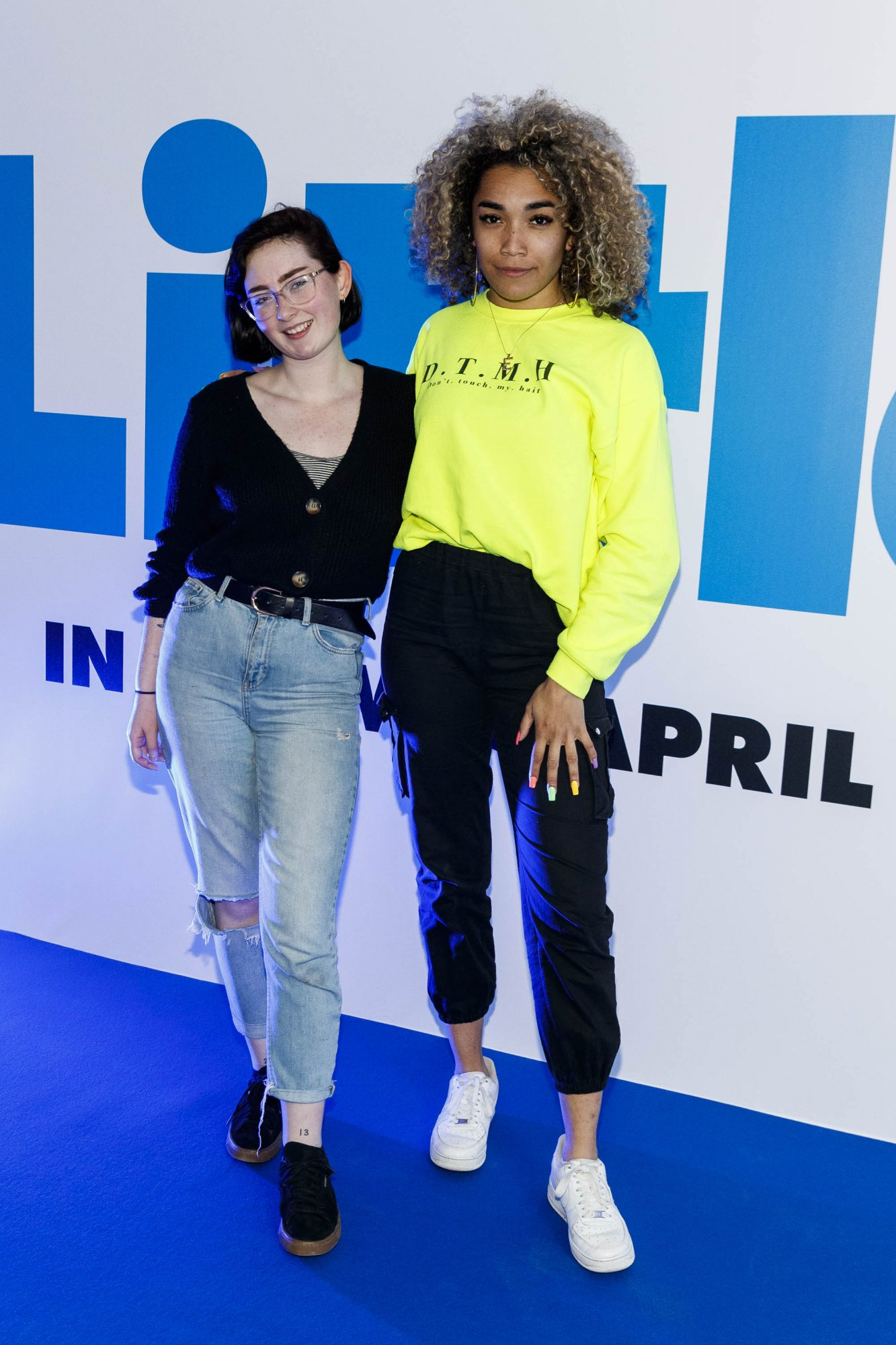 Aoife Keane and Erica Cody pictured at a special preview screening of Little at Odeon Point Square, Dublin. Little, starring Girls Trip Regina Hall hits cinemas across Ireland this Friday April 12th. Picture Andres Poveda