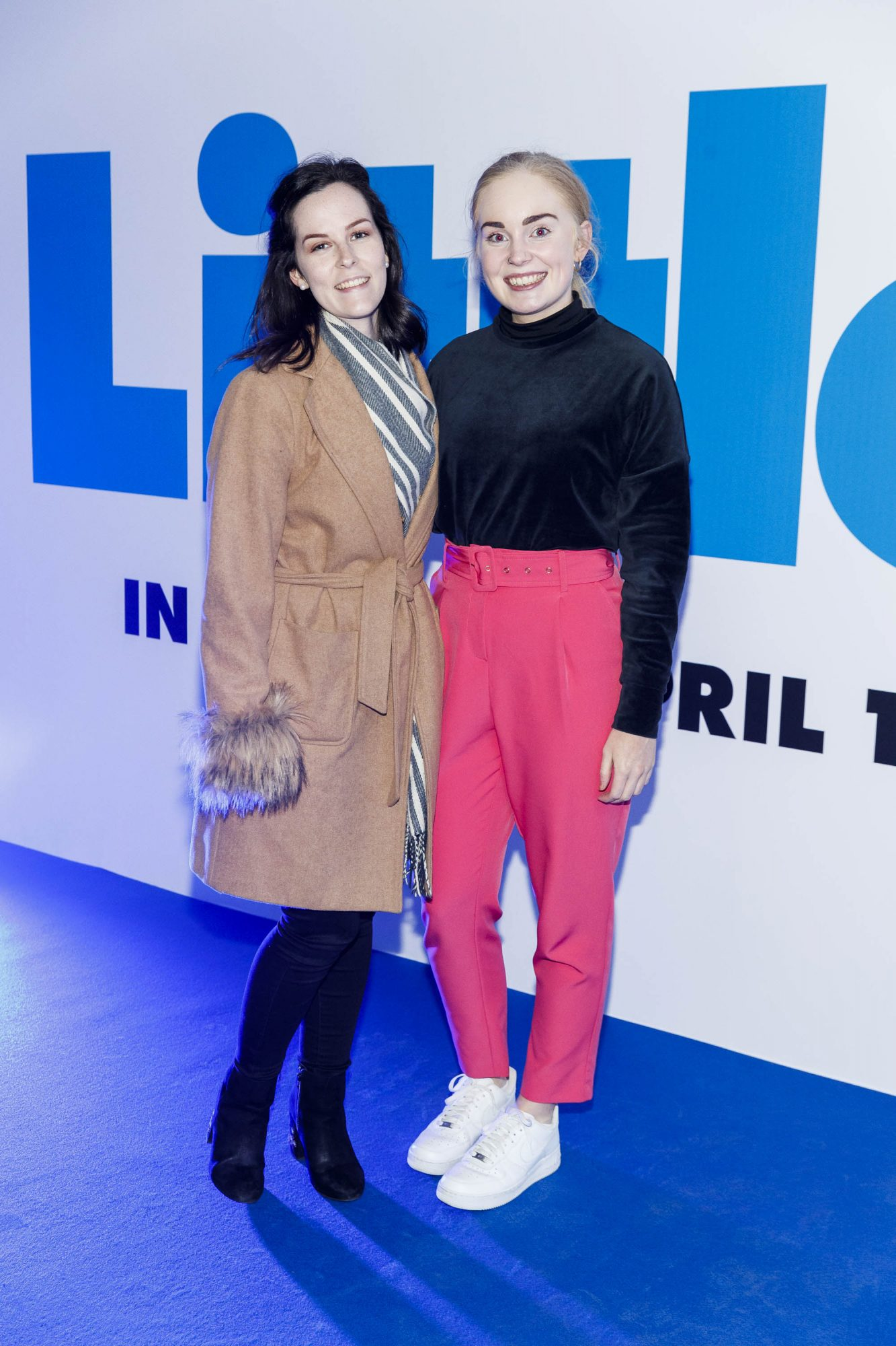 Bevin Maguire and Emily Flemming pictured at a special preview screening of Little at Odeon Point Square, Dublin. Little, starring Girls Trip Regina Hall hits cinemas across Ireland this Friday April 12th. Picture Andres Poveda