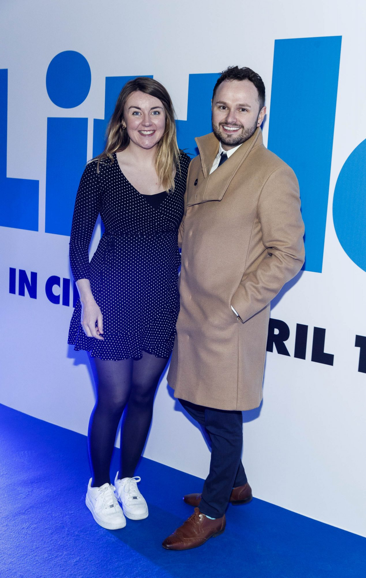 Sarah Moore and Karl Dawson pictured at a special preview screening of Little at Odeon Point Square, Dublin. Little, starring Girls Trip Regina Hall hits cinemas across Ireland this Friday April 12th. Picture Andres Poveda