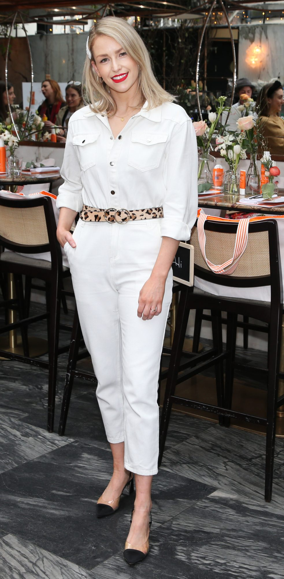 Pictured is Lia Stokes at the launch of the new Avène Expert Suncare Range in The Grayson Dublin. The new range of suncare from the French brand is suitable for all skin types and includes a Sports Sun Cream, a City Shield BB Style High Protection Face Cream, two new SPF Body Sprays and a new Very High Protection Children's SPF. For more information visit www.avene.ie. Photo: Leon Farrell/Photocall Ireland.