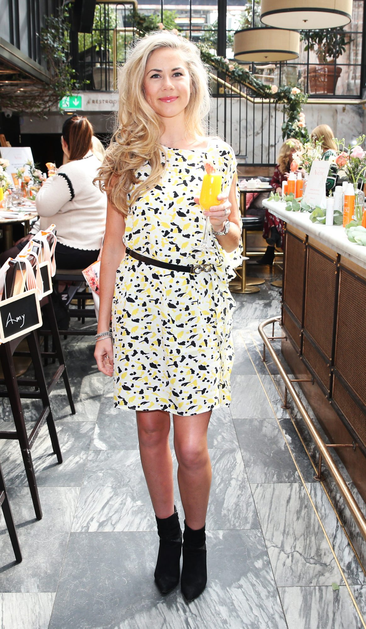 Pictured is Sinead Mooney at the launch of the new Avène Expert Suncare Range in The Grayson Dublin. The new range of suncare from the French brand is suitable for all skin types and includes a Sports Sun Cream, a City Shield BB Style High Protection Face Cream, two new SPF Body Sprays and a new Very High Protection Children's SPF. For more information visit www.avene.ie. Photo: Leon Farrell/Photocall Ireland.
