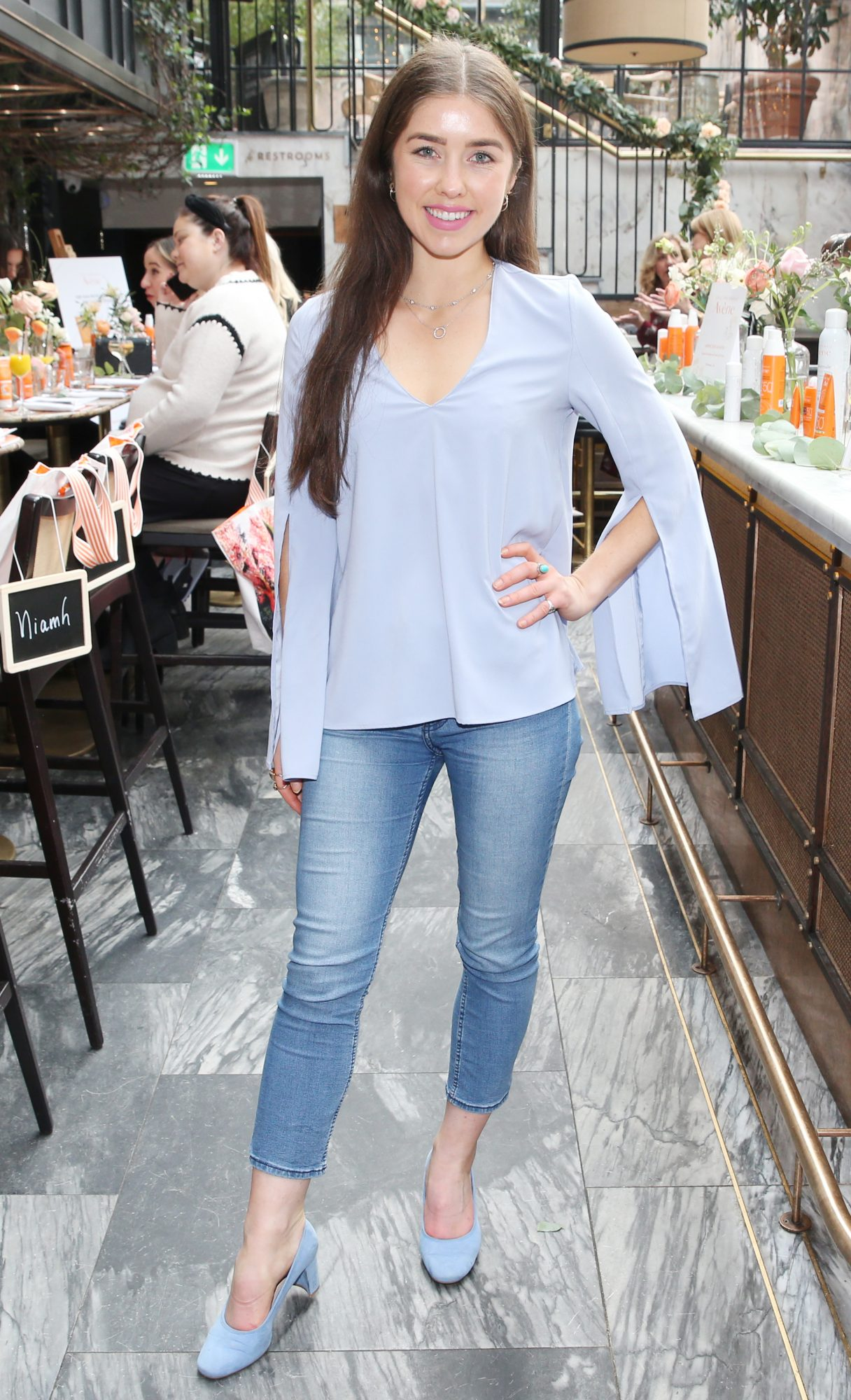 Pictured is Erica Bracken  at the launch of the new Avène Expert Suncare Range in The Grayson Dublin. The new range of suncare from the French brand is suitable for all skin types and includes a Sports Sun Cream, a City Shield BB Style High Protection Face Cream, two new SPF Body Sprays and a new Very High Protection Children's SPF. For more information visit www.avene.ie. Photo: Leon Farrell/Photocall Ireland.