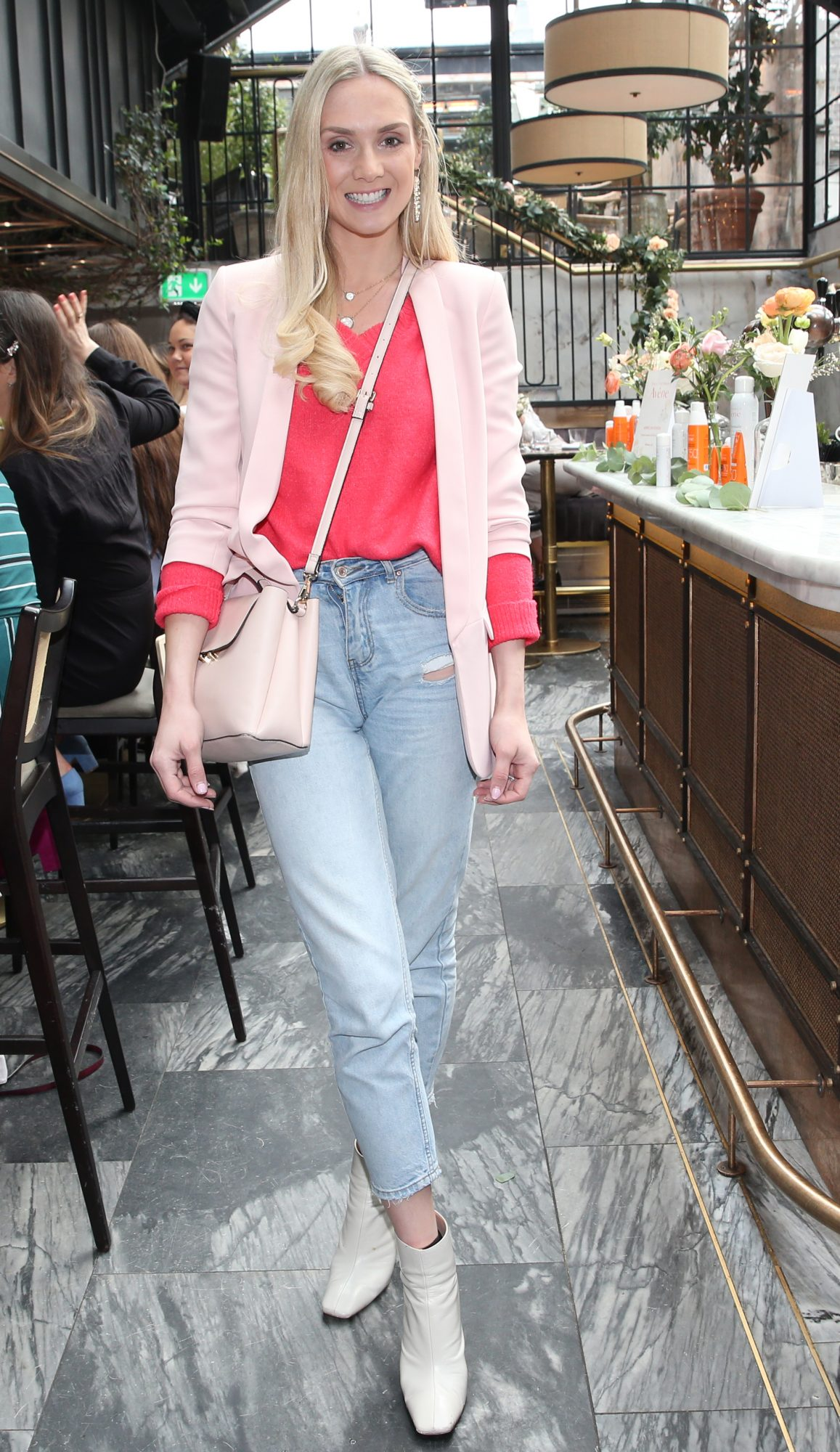 Pictured is Judy Gilroy at the launch of the new Avène Expert Suncare Range in The Grayson Dublin. The new range of suncare from the French brand is suitable for all skin types and includes a Sports Sun Cream, a City Shield BB Style High Protection Face Cream, two new SPF Body Sprays and a new Very High Protection Children's SPF. For more information visit www.avene.ie. Photo: Leon Farrell/Photocall Ireland.