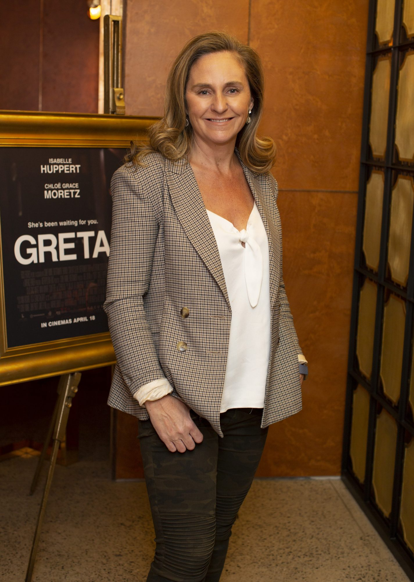 Debbie O'Donnell pictured at a special preview screening of GRETA at The Stella Theatre, Ranelagh. GRETA, directed by Academy Award®-winner Neil Jordan and starring Chloë Grace Moretz and Isabelle Huppert, hits cinemas across Ireland this Thursday 18th April. Photo: Anthony Woods