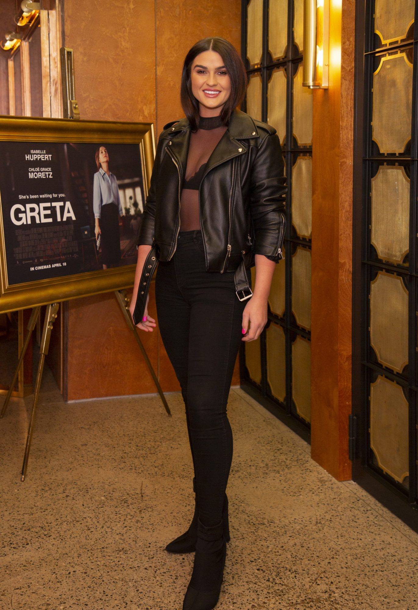 Lynn Kelly pictured at a special preview screening of GRETA at The Stella Theatre, Ranelagh. GRETA, directed by Academy Award®-winner Neil Jordan and starring Chloë Grace Moretz and Isabelle Huppert, hits cinemas across Ireland this Thursday 18th April. Photo: Anthony Woods